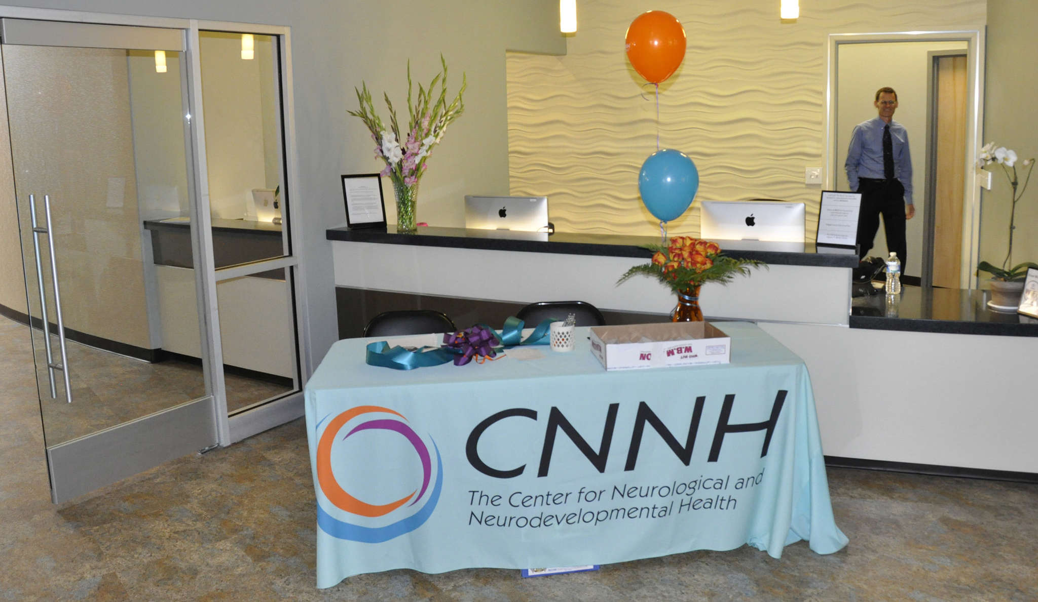 Being at Voorhees Town Center has benefits for patients and staff alike at the Center for Neurological and Neurodevelopmental Health.
