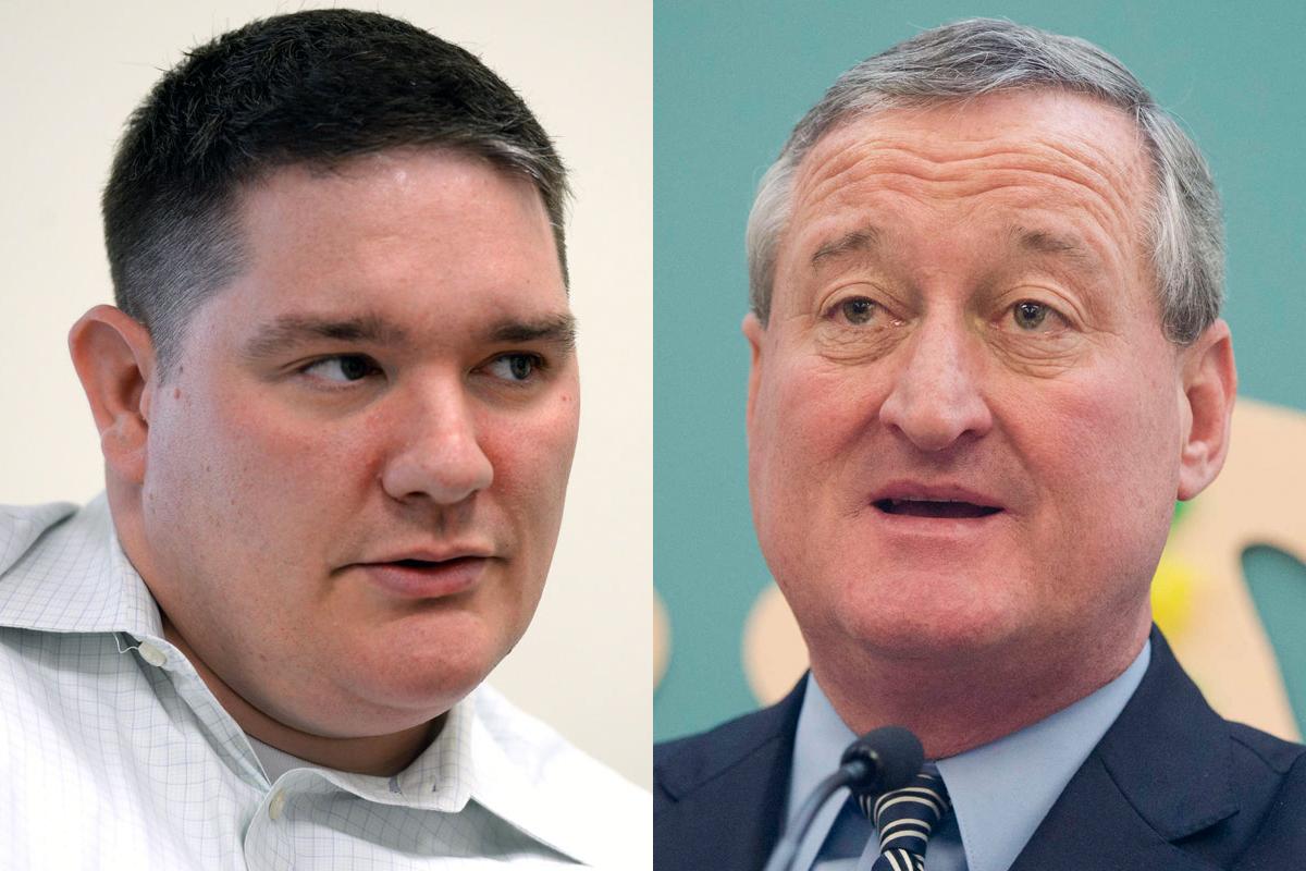 Richard Lazer, the deputy mayor for labor (left), is Philadelphia Mayor Jim Kenney´s key to labor peace.