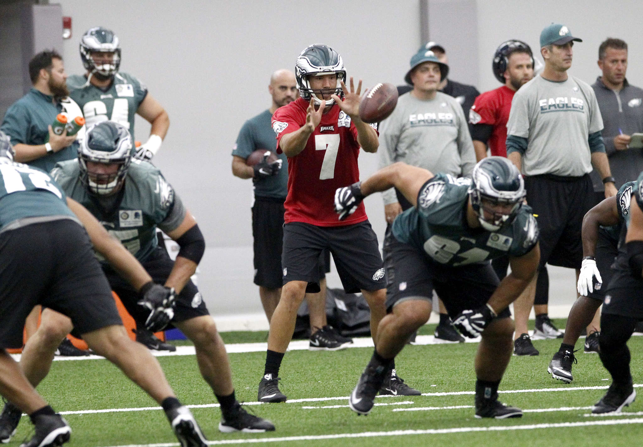 Sam Bradford can expect extra pass protection from running backs and tight ends this year.