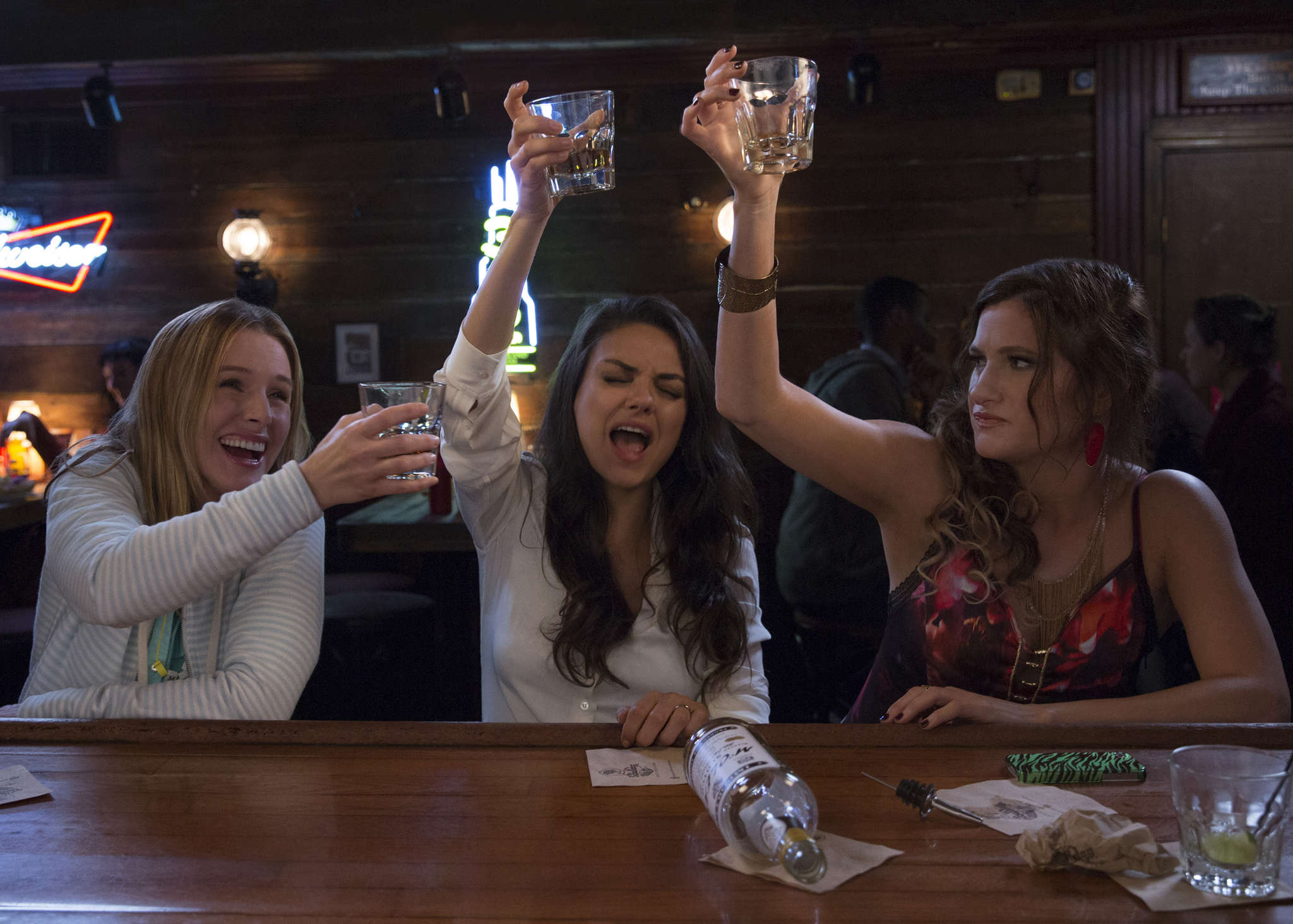 "Overtaxed and rebelling: ""Bad Moms"" - starring (from left) Kristen Bell,Mila Kunis, and Kathryn Hahn - from the creators of ""The Hangover."""