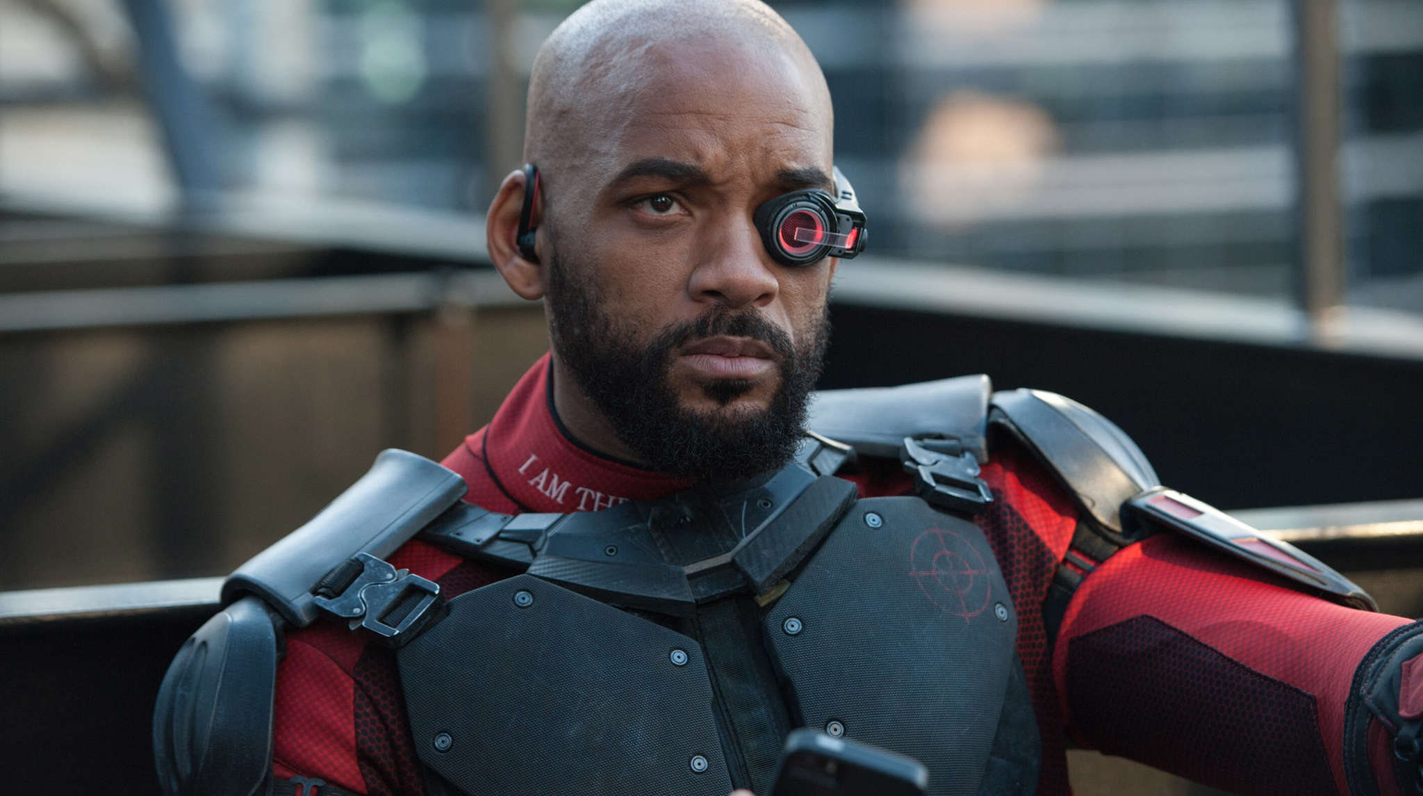 """Will Smith as Deadshot in """"Suicide Squad."""""""