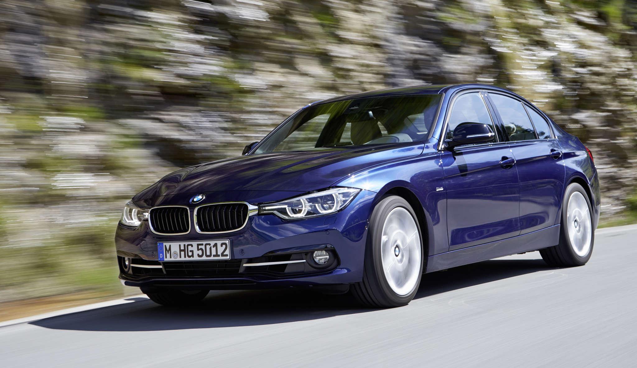 "The BMW 3 Series , in a range of configurations, receiveda ""lifecycle freshening."""