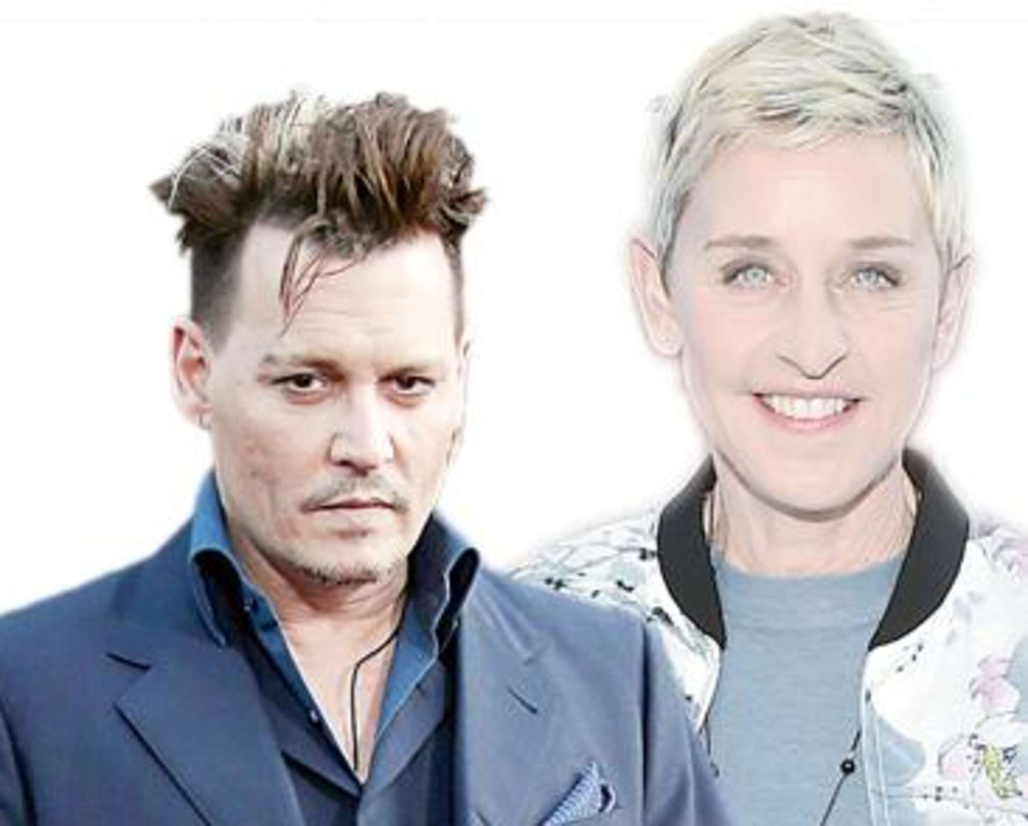 Depp: Divorce done DeGeneres: Runs from racism