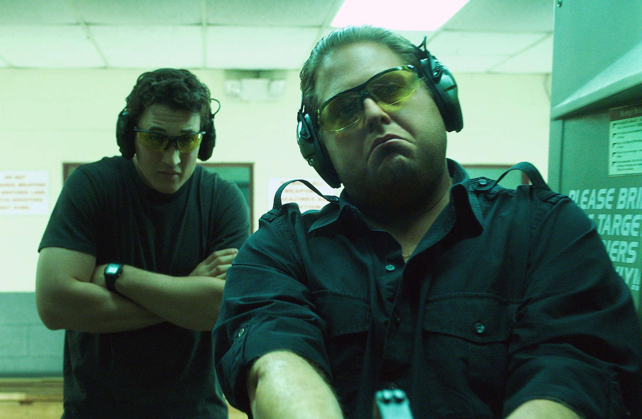 """""""War Dogs"""" stars Miles Teller (left) and Jonah Hill."""