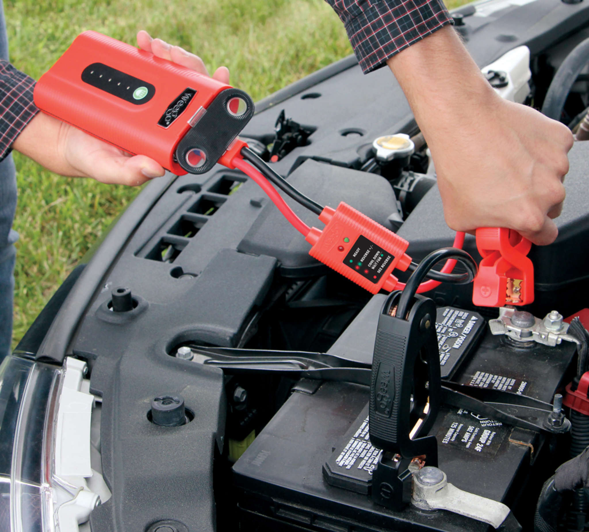 The Weego Portable Power Jump Starter 44 is versatile and safe.