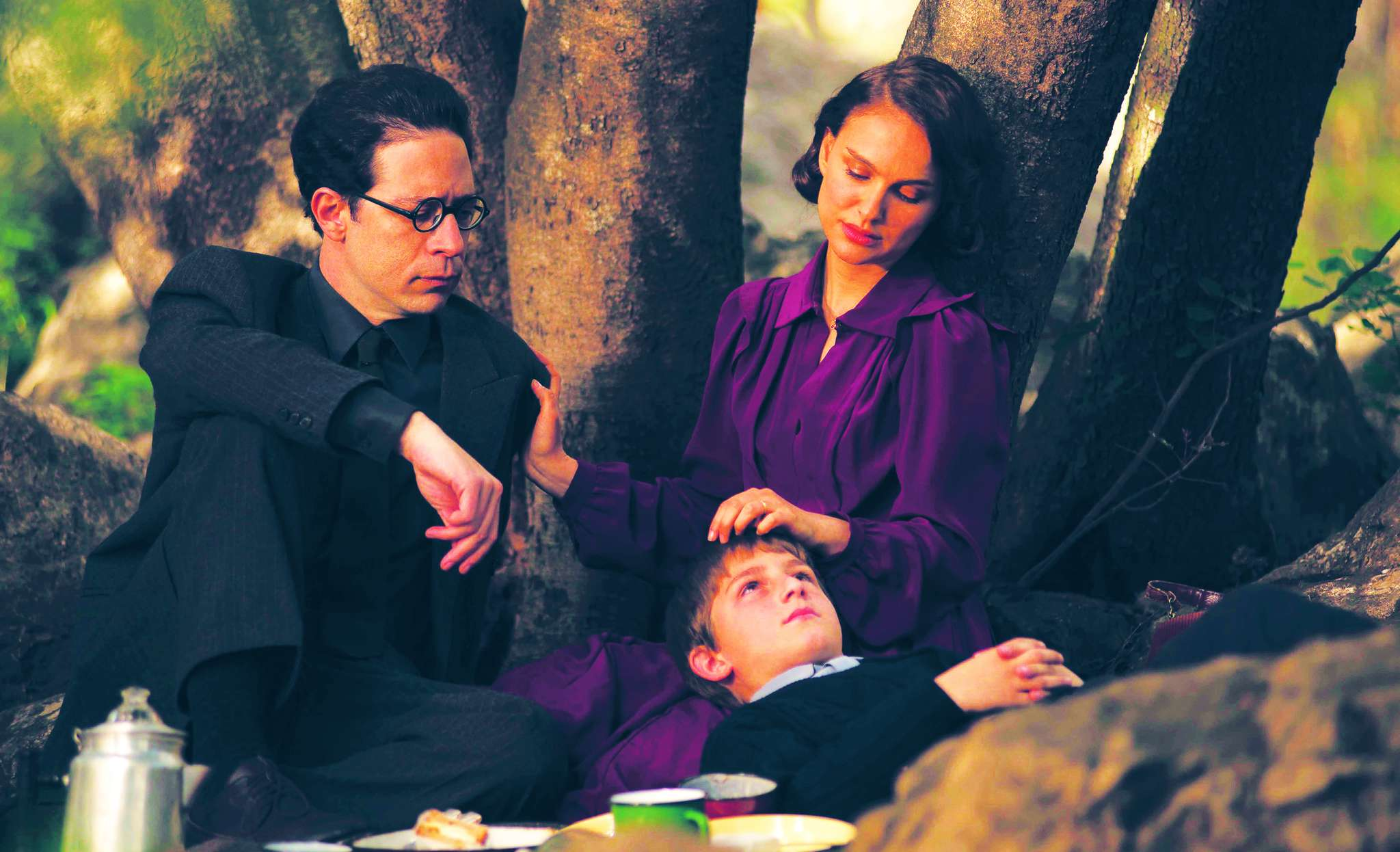 """Natalie Portman directs and stars in her adaptation of Amos Oz´s """"A Tale of Love and Darkness,"""" with Gilad Kahana (left) and Amir Tessler. Focus World"""
