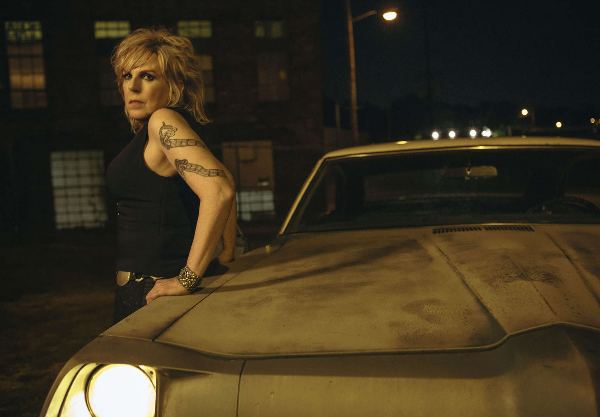 Lucinda Williams is in Ocean City on Monday.