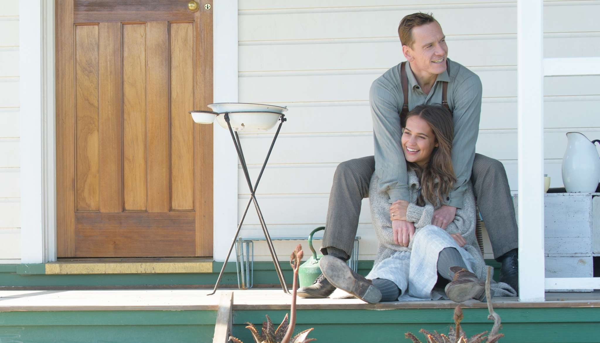 """""""The Light Between Oceans"""" stars Michael Fassbender and Alicia Vikander as a husband and wife who find an abandoned baby and take it in as their own. DAVI RUSSO / DreamWorks"""