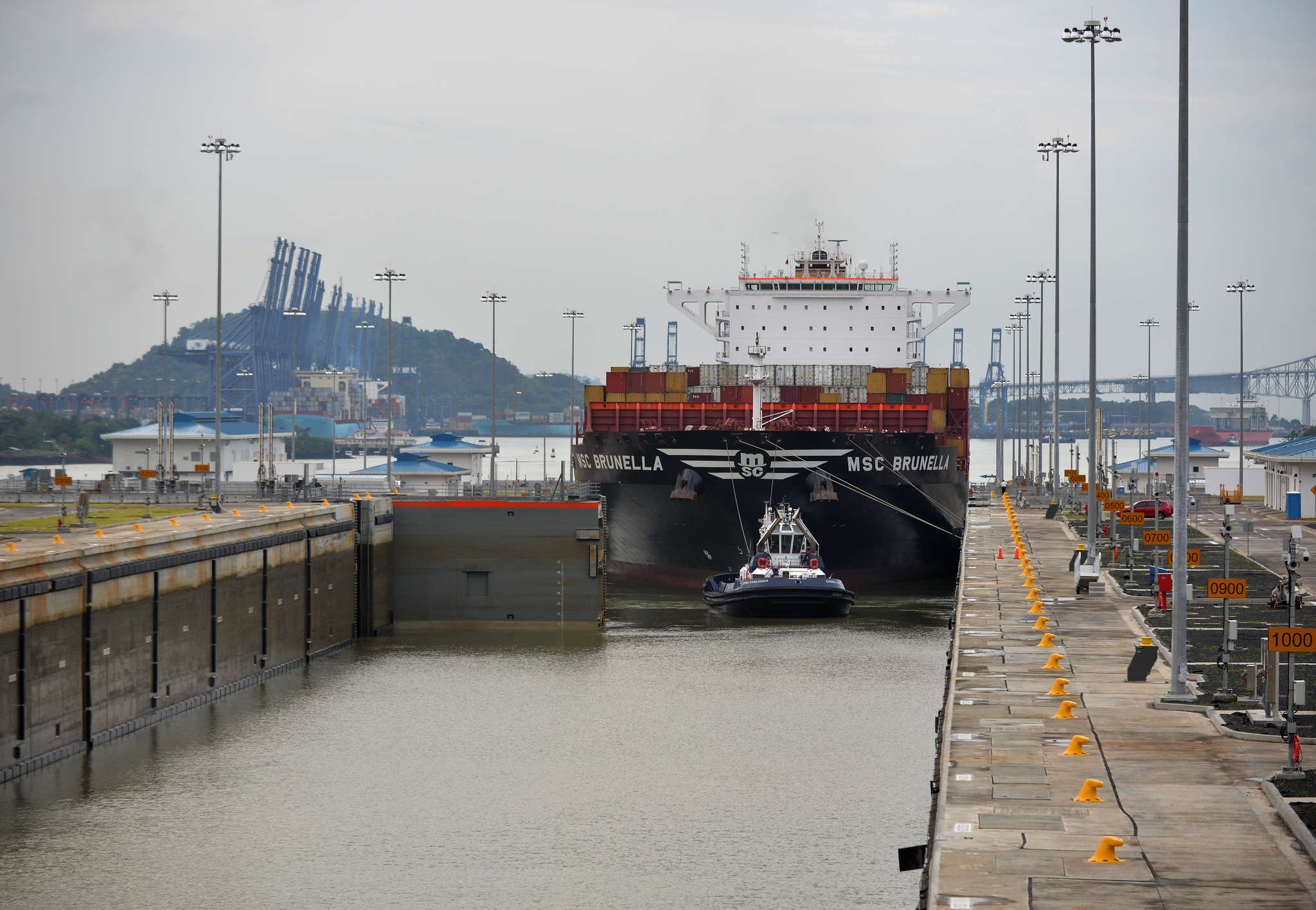 With the recently expanded Panama Canal, the Port of Philadelphia is getting the largest cargo ships to ever sail up the Delaware River.