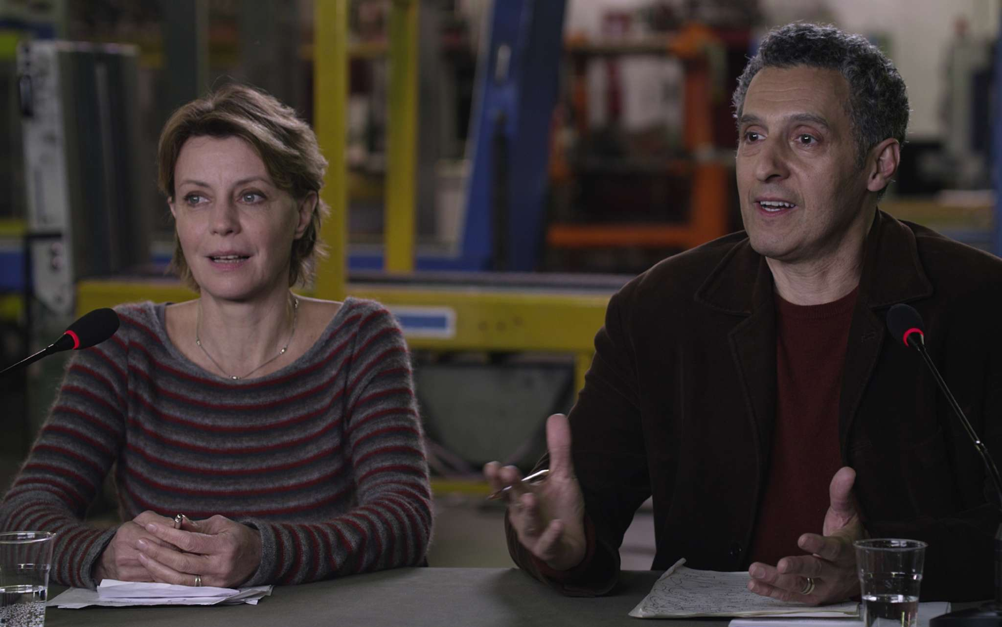 """""""Mia Madre"""" stars Margherita Buy as a director whose life is unraveling. John Turturro adds comic relief as a loutish New York actor."""