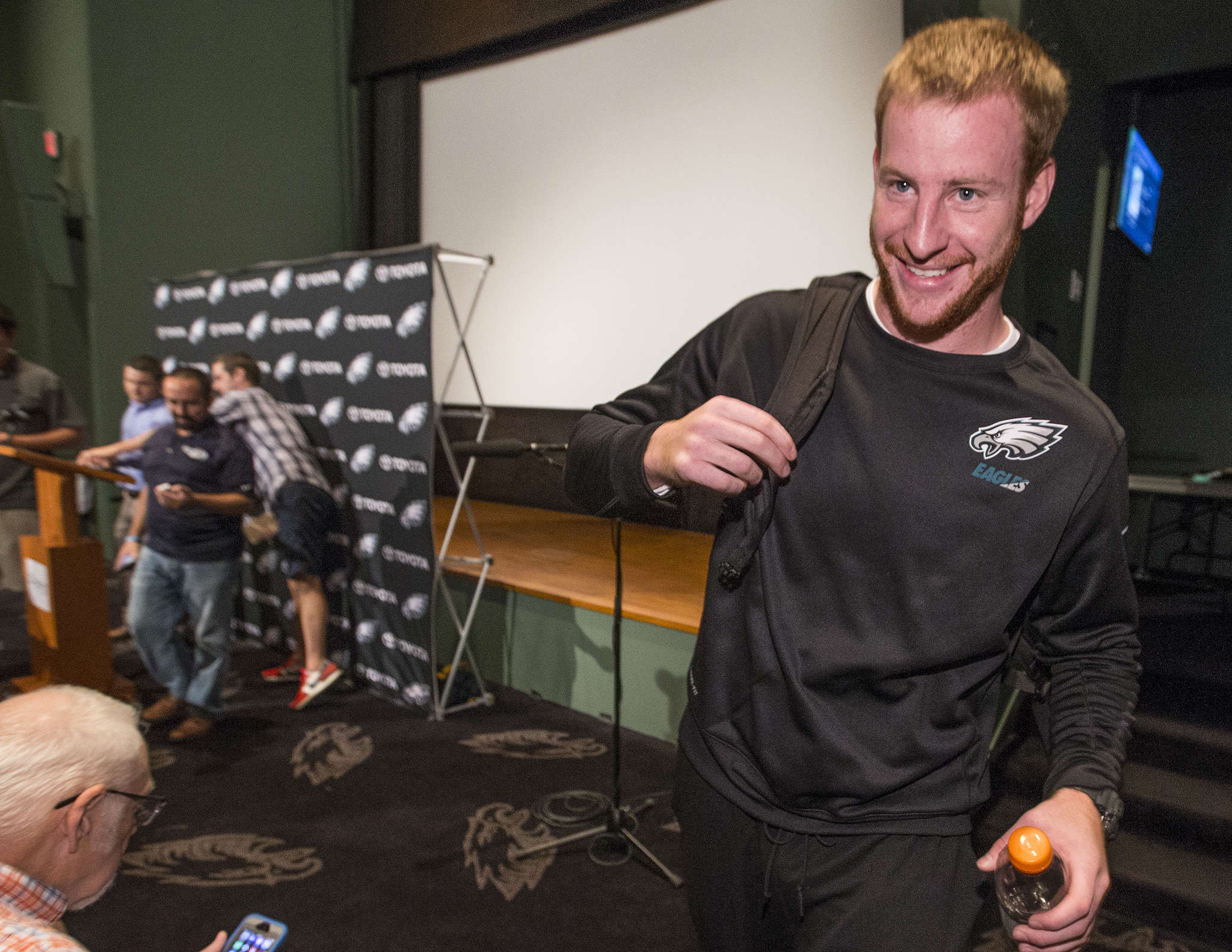 Carson Wentz told media Monday: ´I knew I was ready . . . Even going into the first preseason game I felt like I was very confident, felt like I´d developed at a fast pace. Now it´s here.´