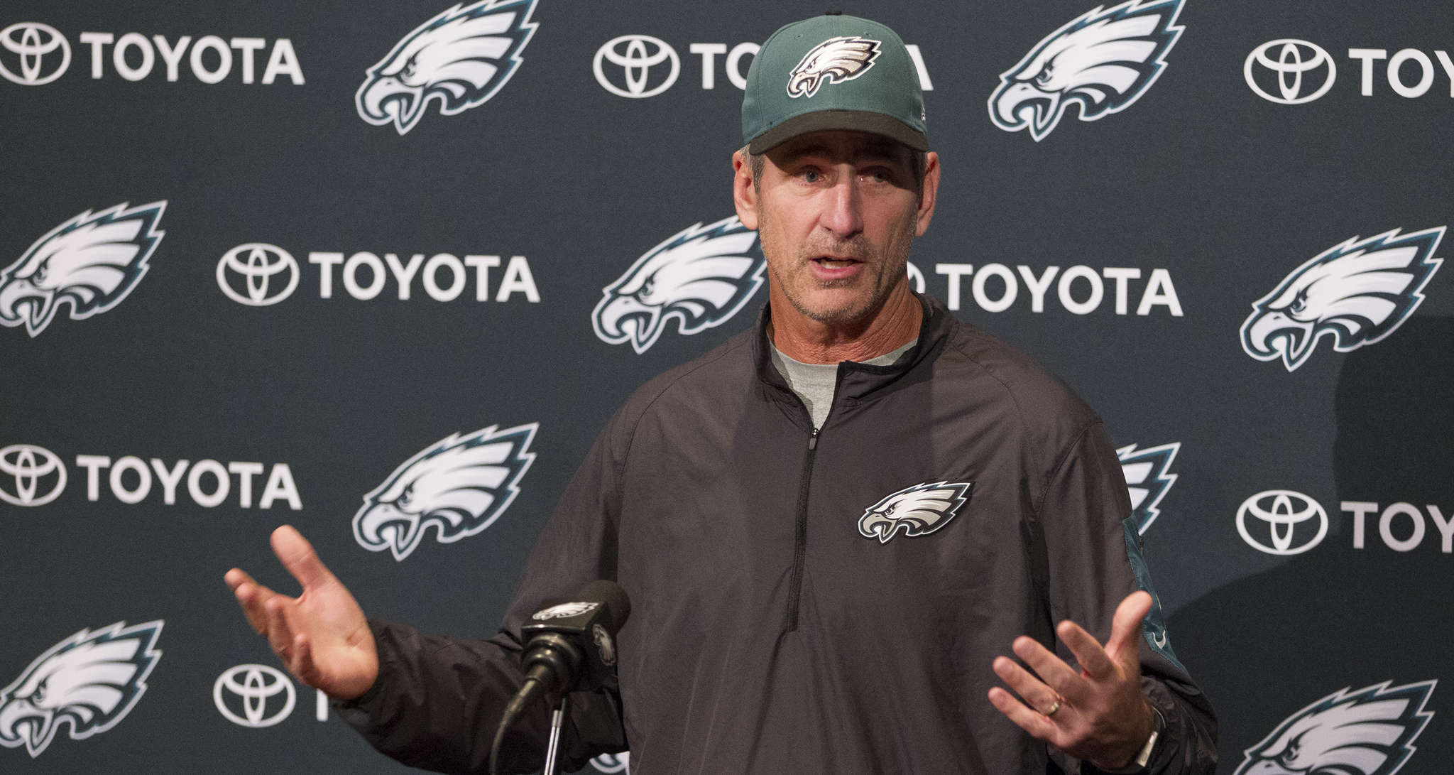 Frank Reich says Carson Wentz has what it takes to be an elite quarterback.