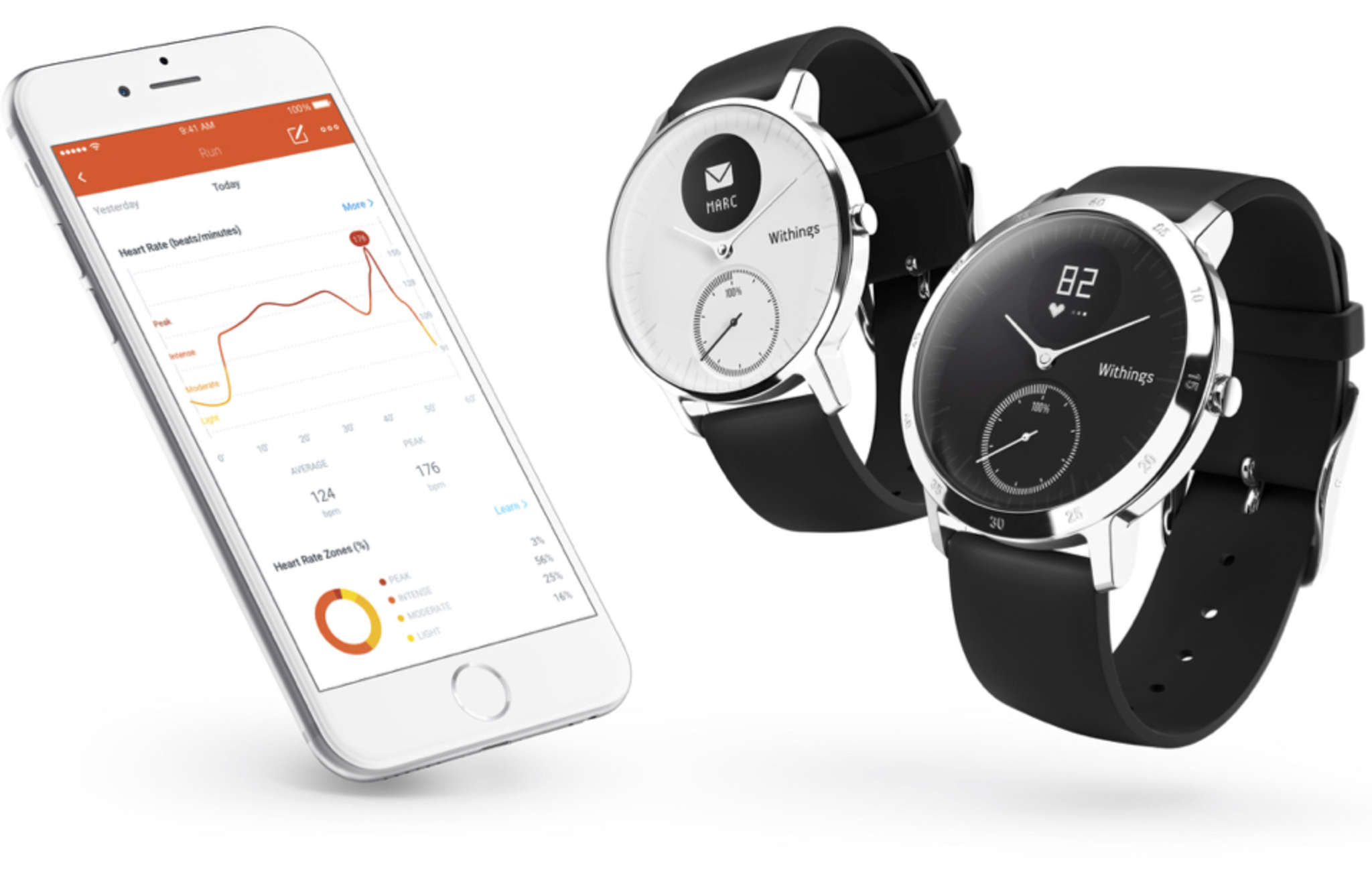Smart watches that combine traditional styling with activity tracking and phone controls will be readily available as year-end gifts.