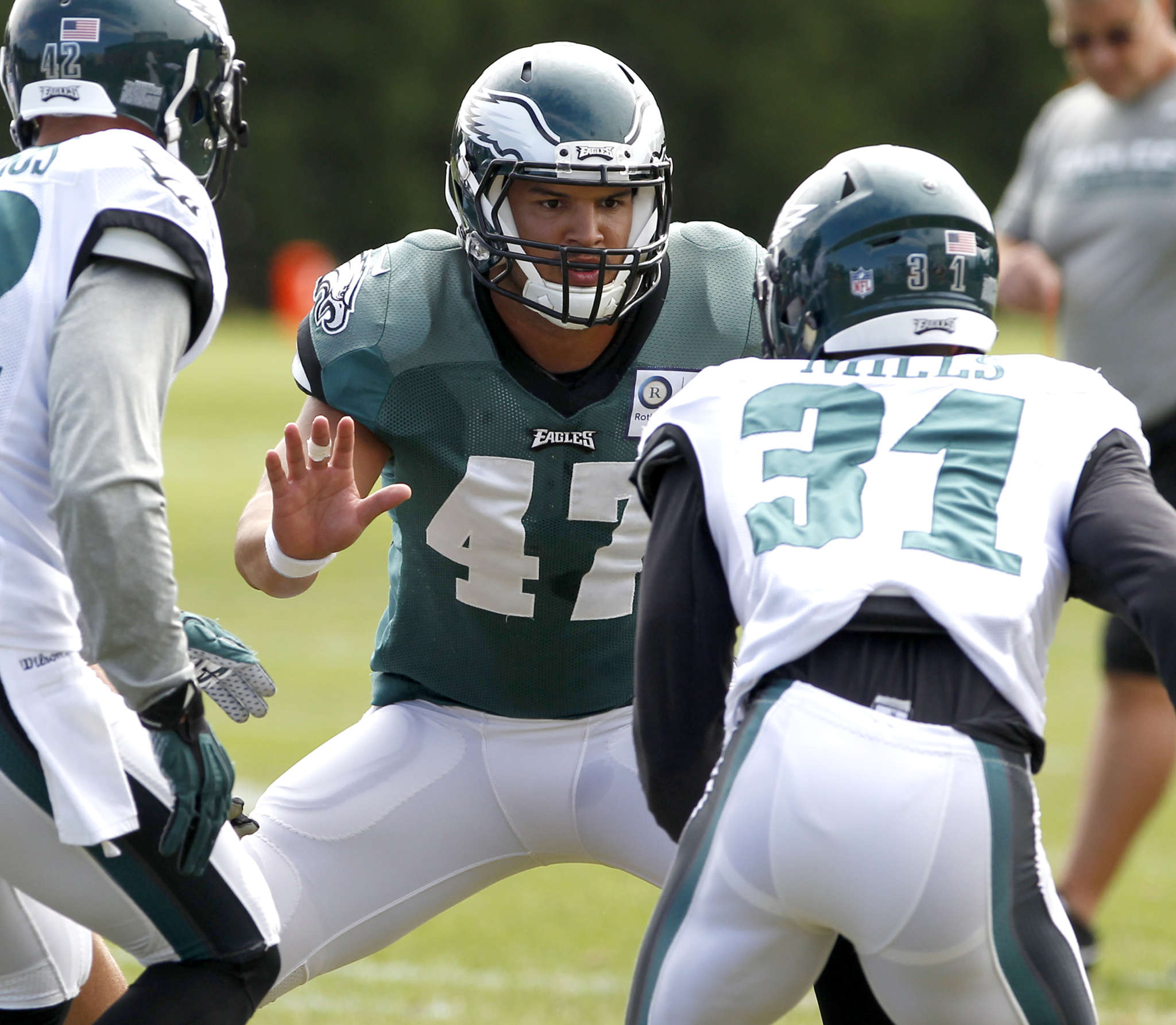 Trey Burton is focused on getting extended playing time against the Bears.