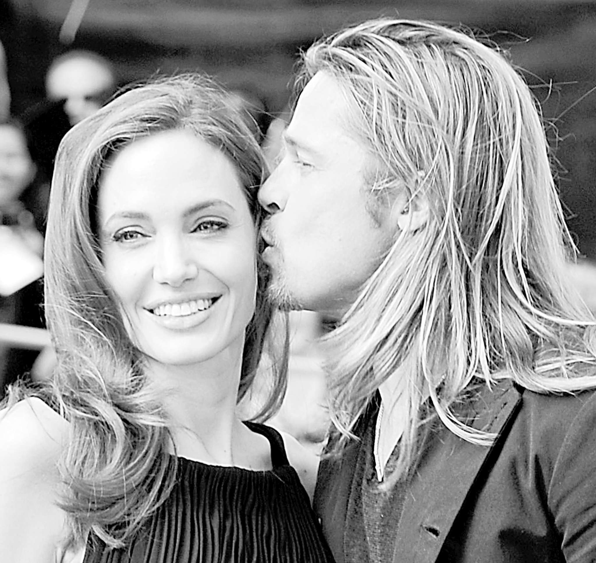 Angelina and Brad at the premiere of World War Z in 2013, in much happier times. TRIBUNE NEWS SERVICE