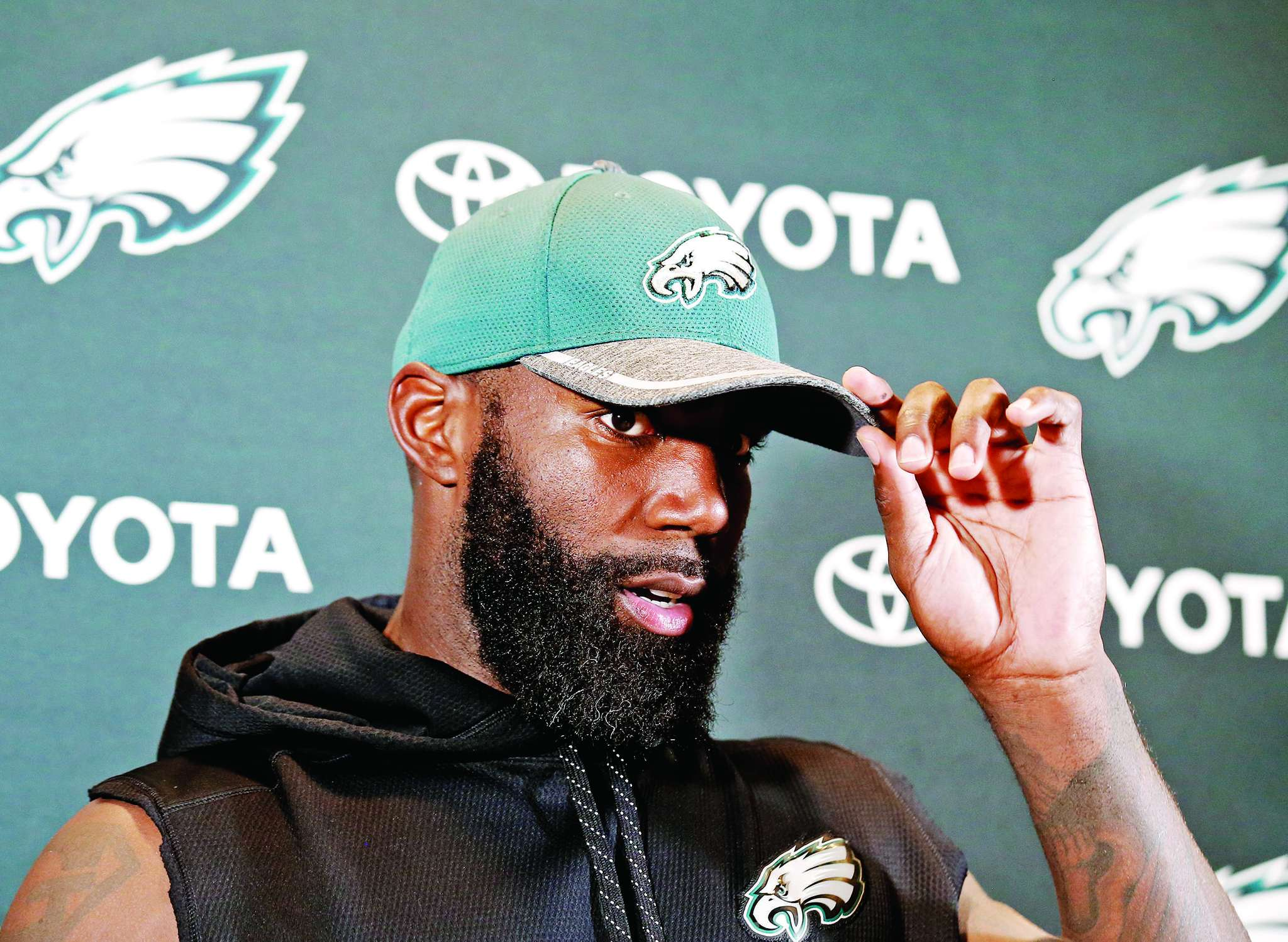 Malcolm Jenkins on reaction to protest: ´The most disheartening thing about it is to see the lack of empathy. And the silence. At some point, your silence becomes a nod of approval.´