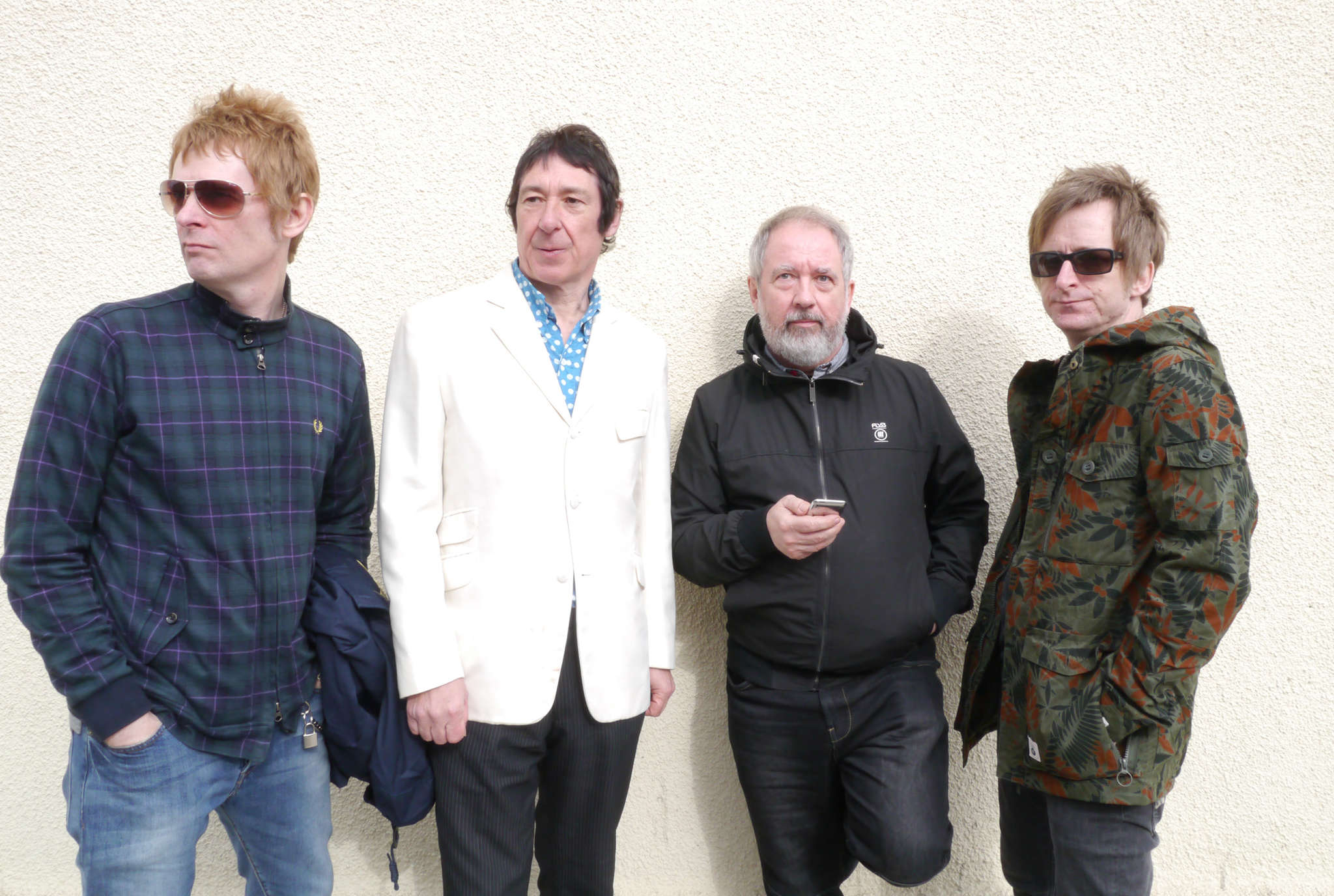 The Buzzcocks, marking their 40th year, play at TLA on Friday.