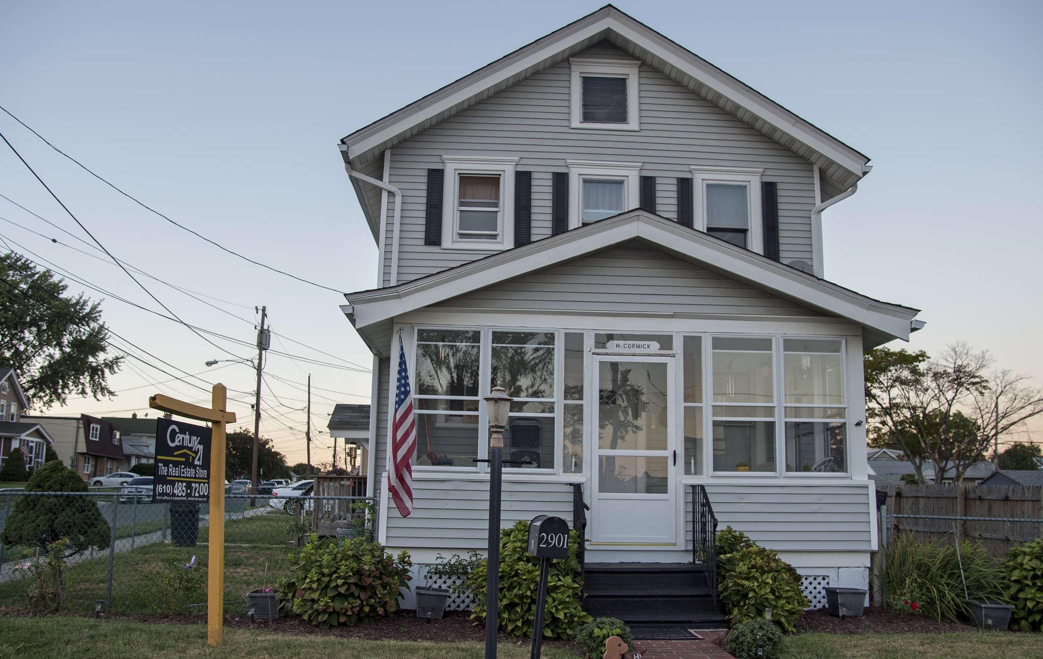 Parkside Borough, Delaware County where homes for sale include 2901 Arlington Avenue September 12, 2016.