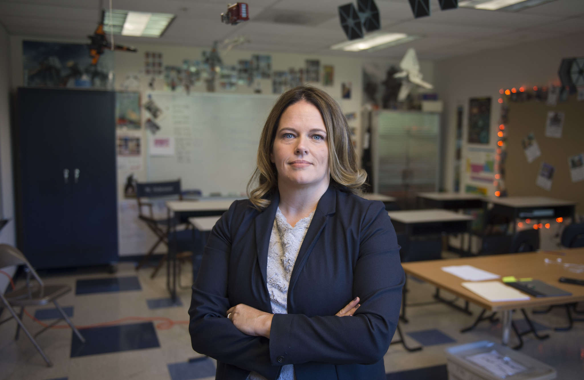 Melissa Bilash, founder of the Grayson School in Broomall, one of 20 finalists in Stellar StartUps. The Grayson School is designed for gifted learners.