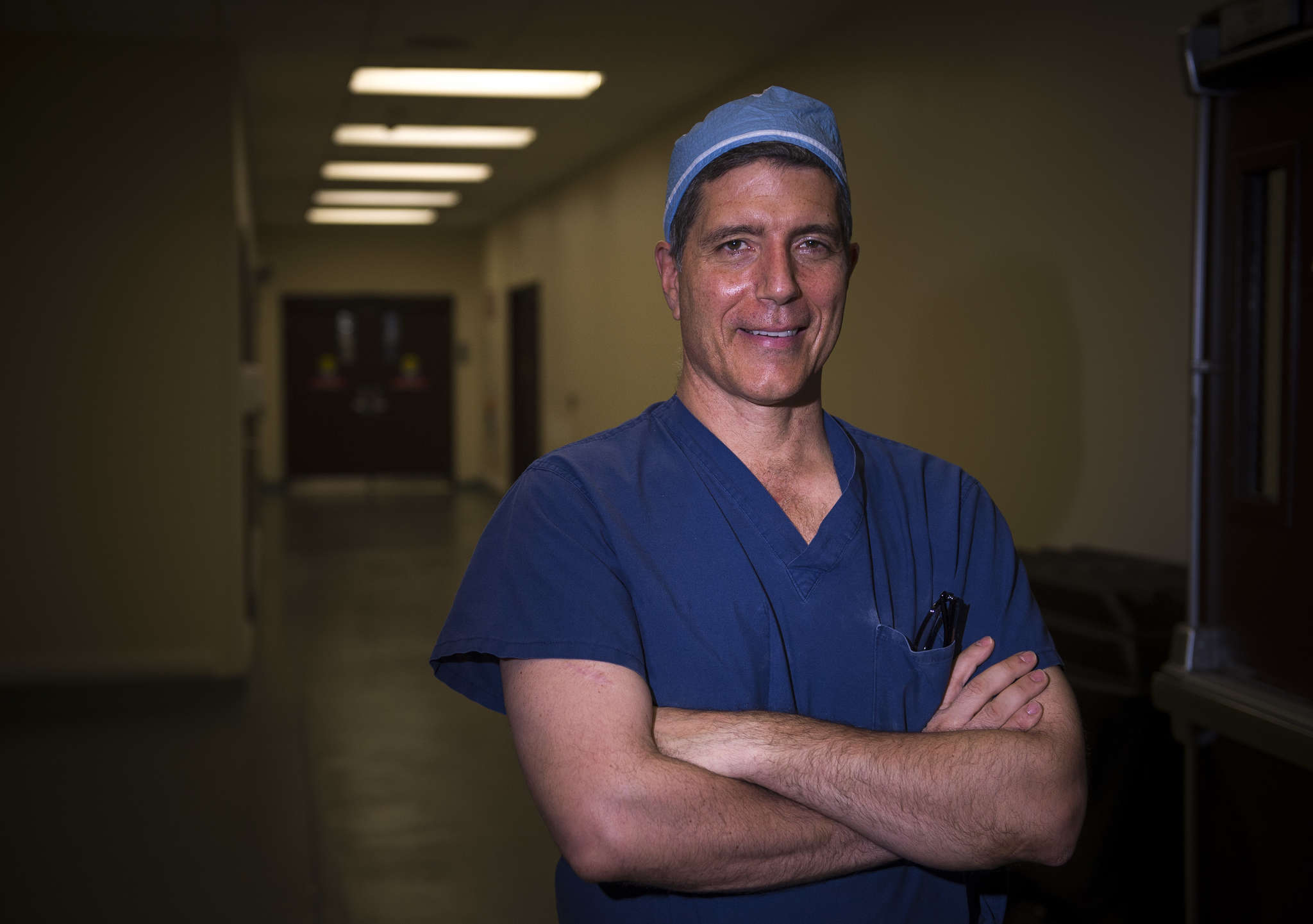 Rothman president Alexander R. Vaccaro likes surgery because he can focus purely on the well-being of the patient.