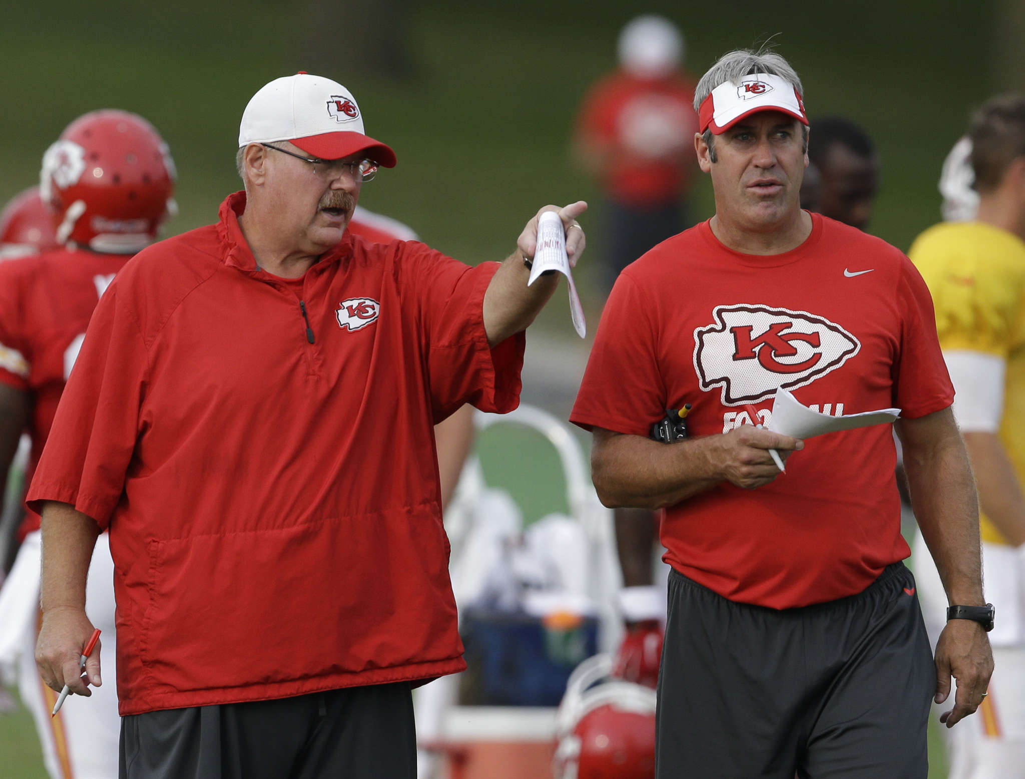 Andy Reid had Doug Pederson under his wing in Green Bay, Philadelphia and Kansas City.
