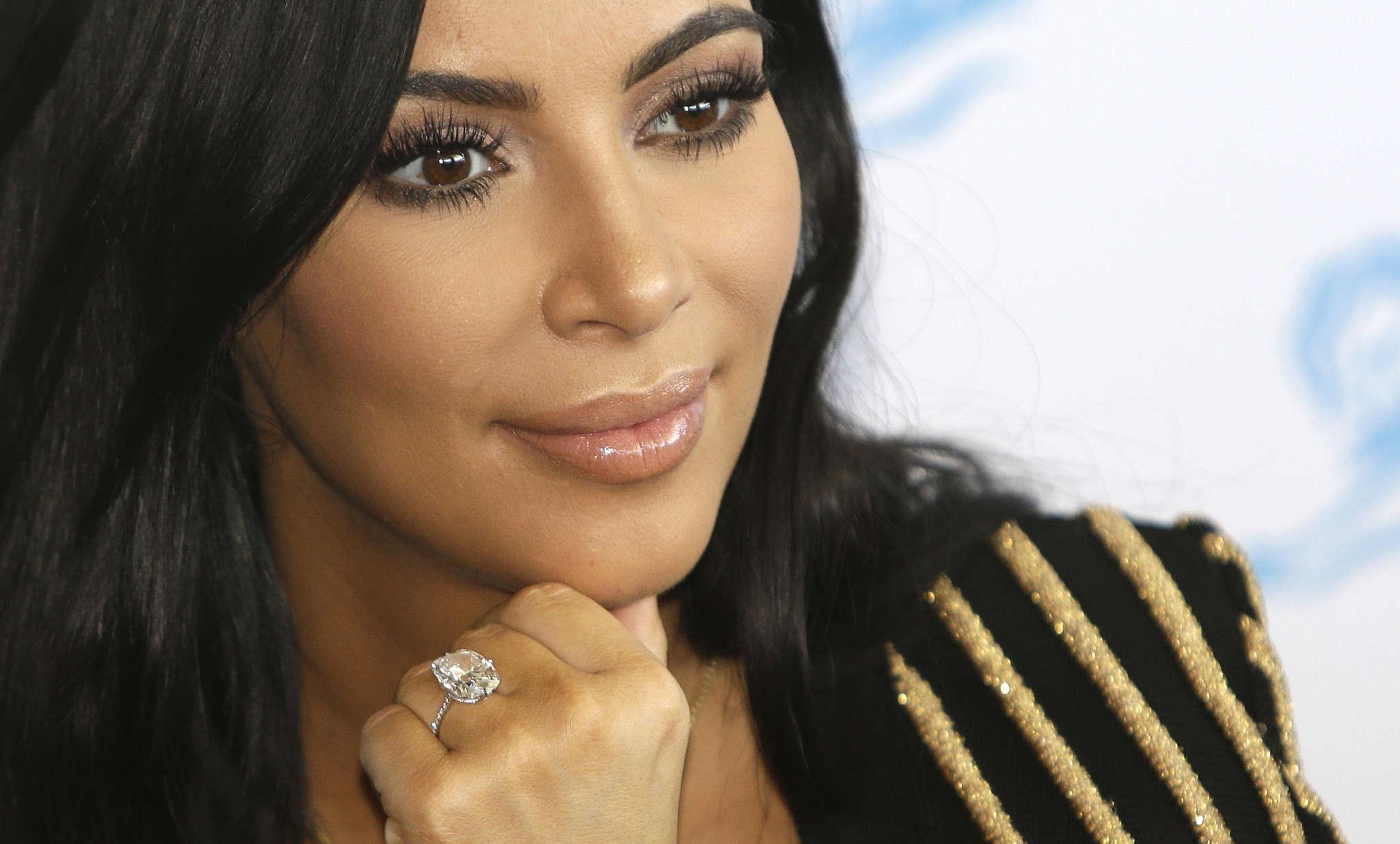 Kim Kardashian has returned home.