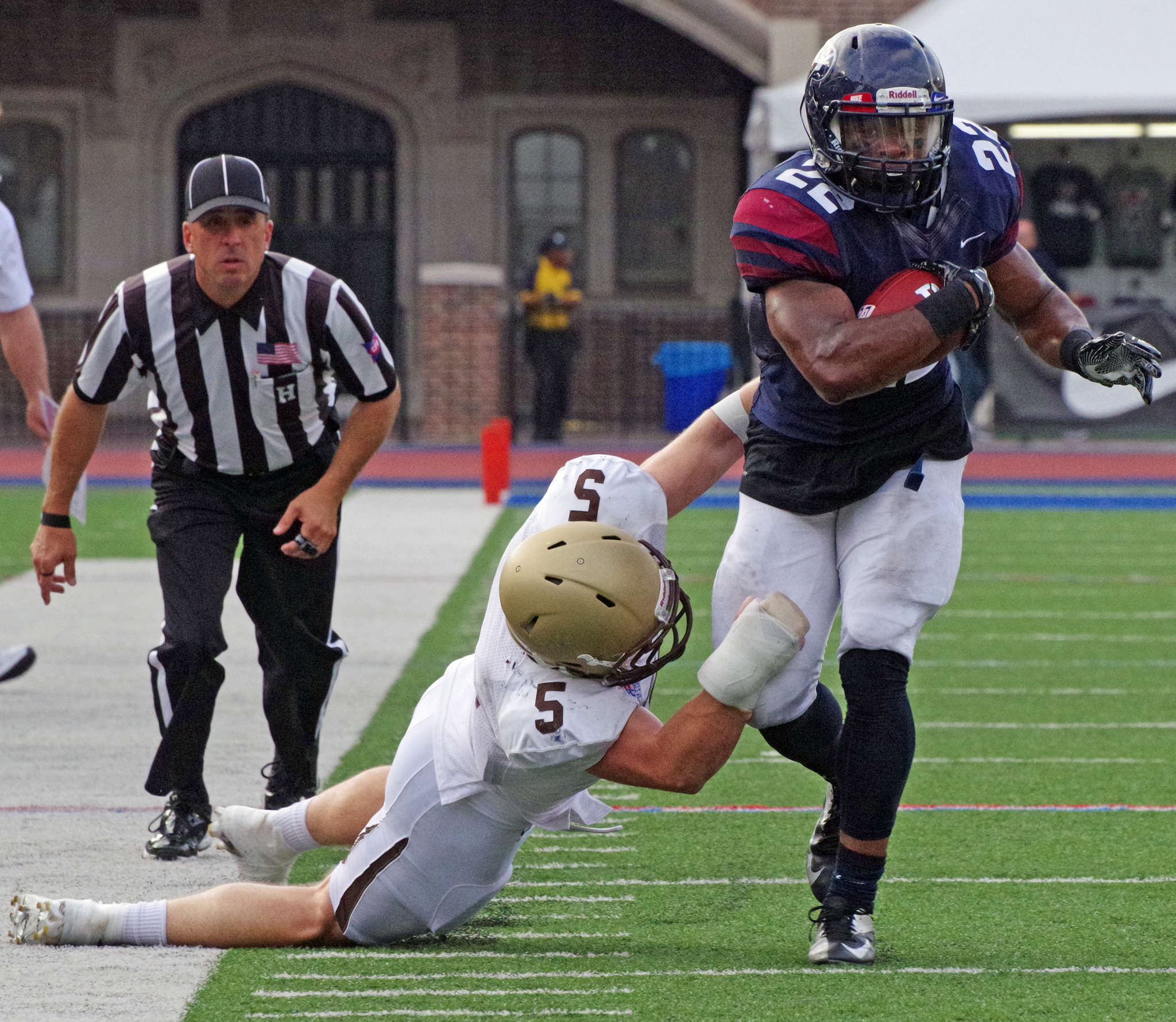 Running back Tre Solomon suffered a serious left knee injury in 2014. DON FELICE/Penn Athletics