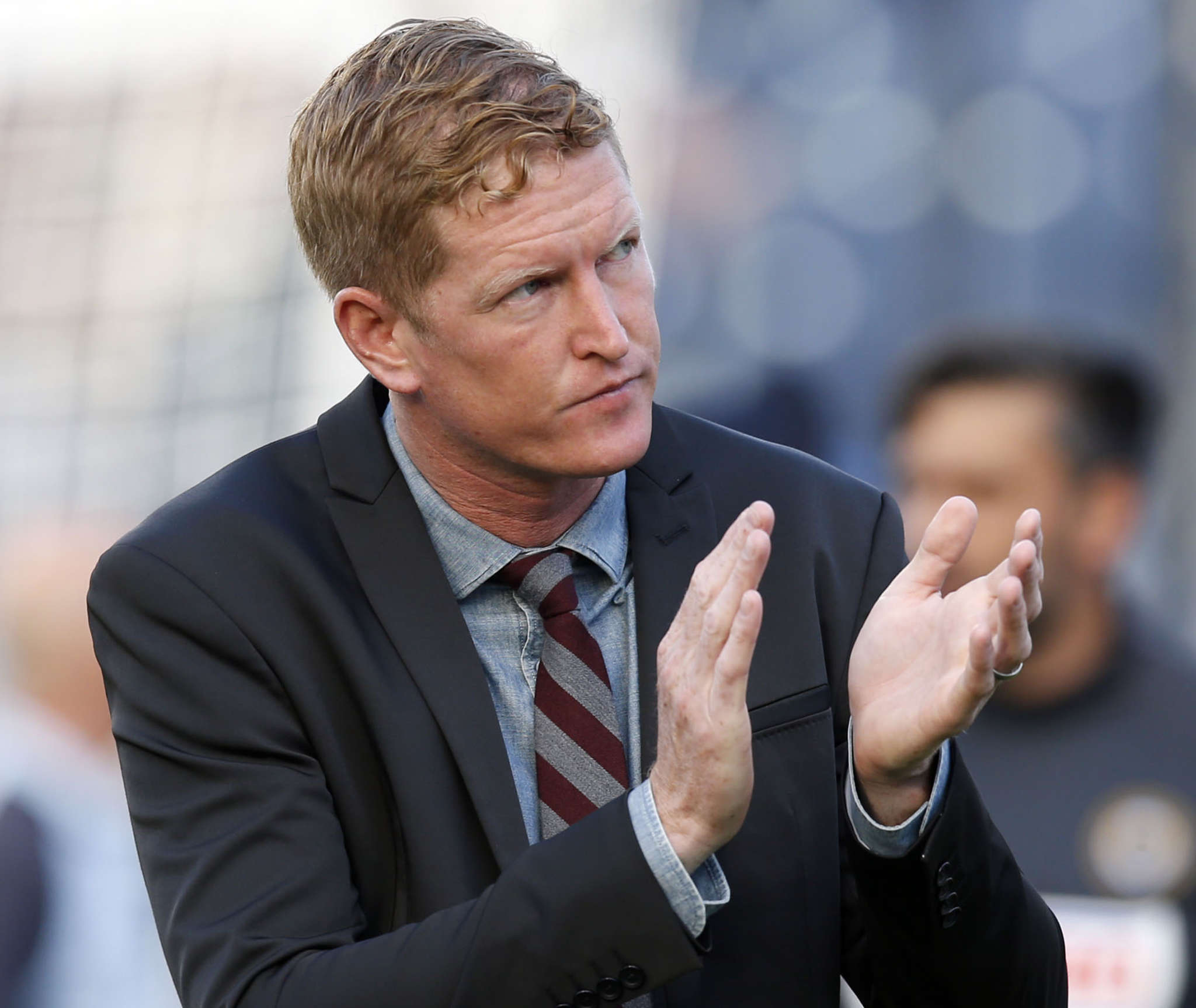 Union coach Jim Curtin has worked to instill a winning culture in his locker room this season.