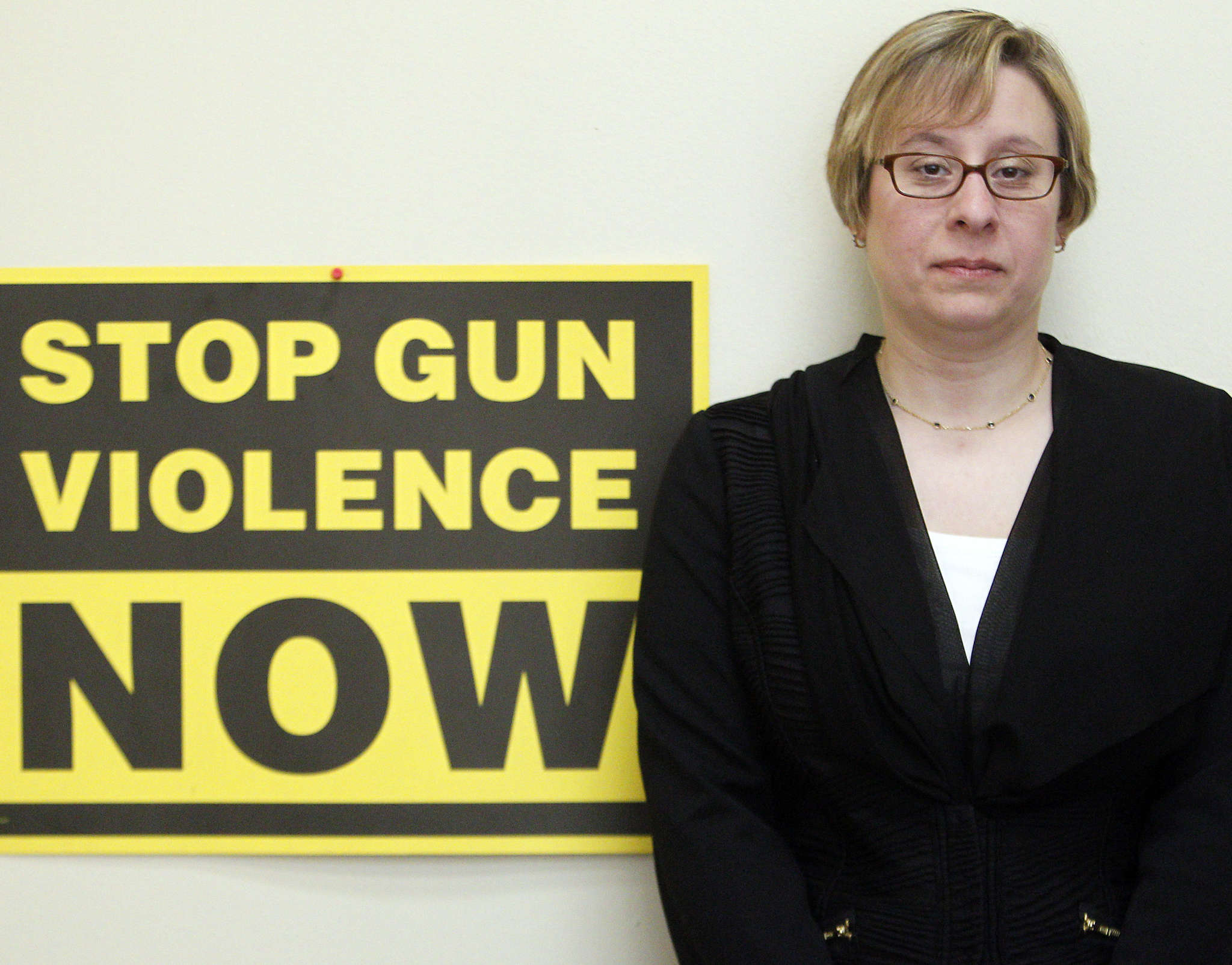 """""""It should be talked about. The number of gun deaths is not decreasing, and Pennsylvania is among states where gun deaths outnumber auto-crash deaths,"""" says Shira Goodman, executive director of CeaseFire Pennsylvania."""
