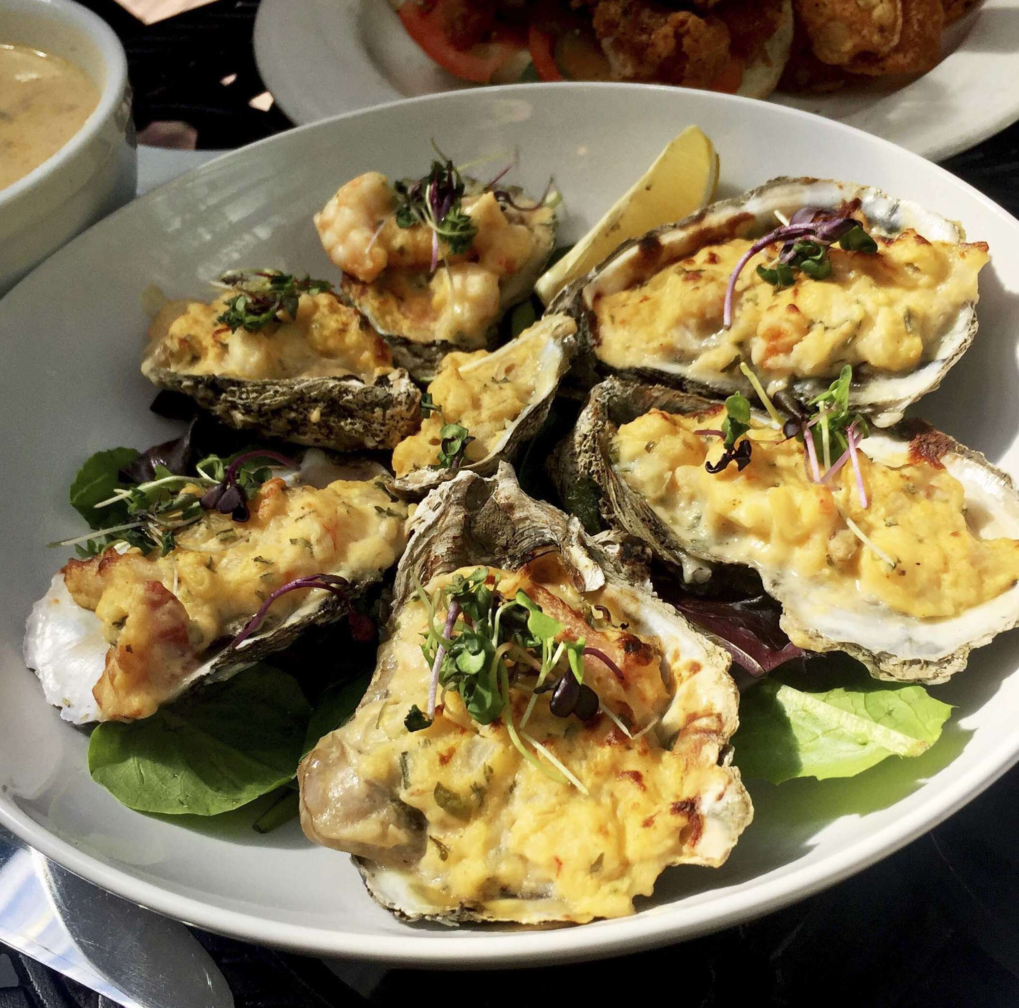 Oysters Bienville from Common Wealth.