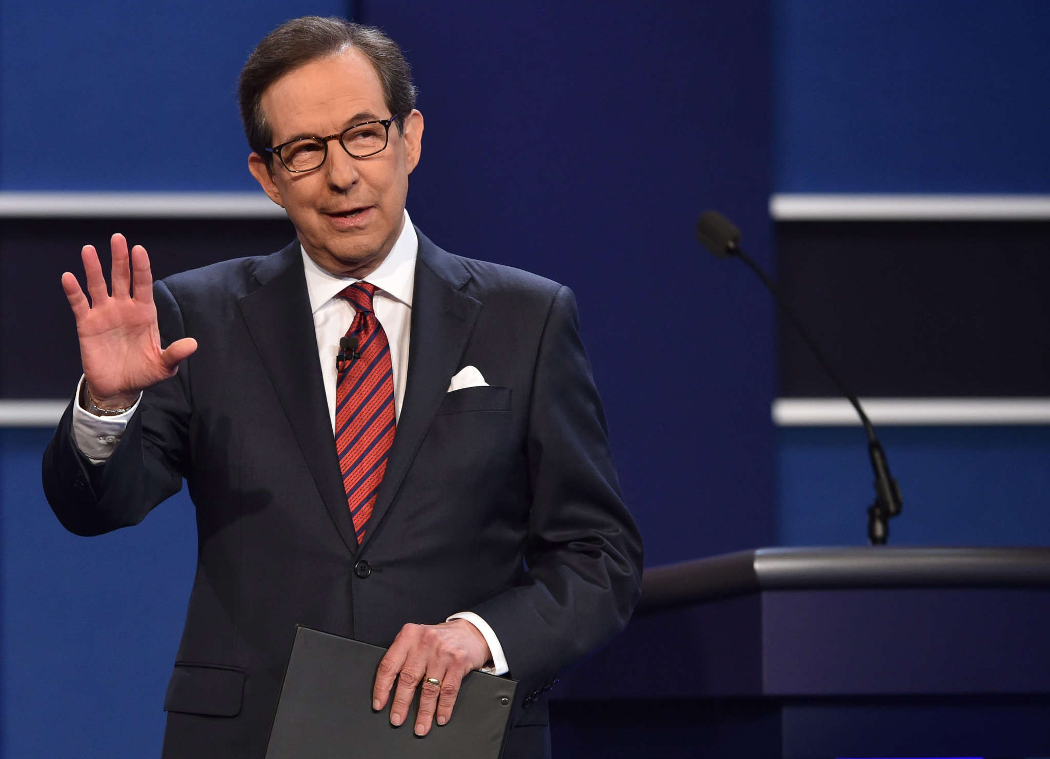 Fox News anchor and commentator Chris Wallace  presided over the least circuslike of the three presidential debates,