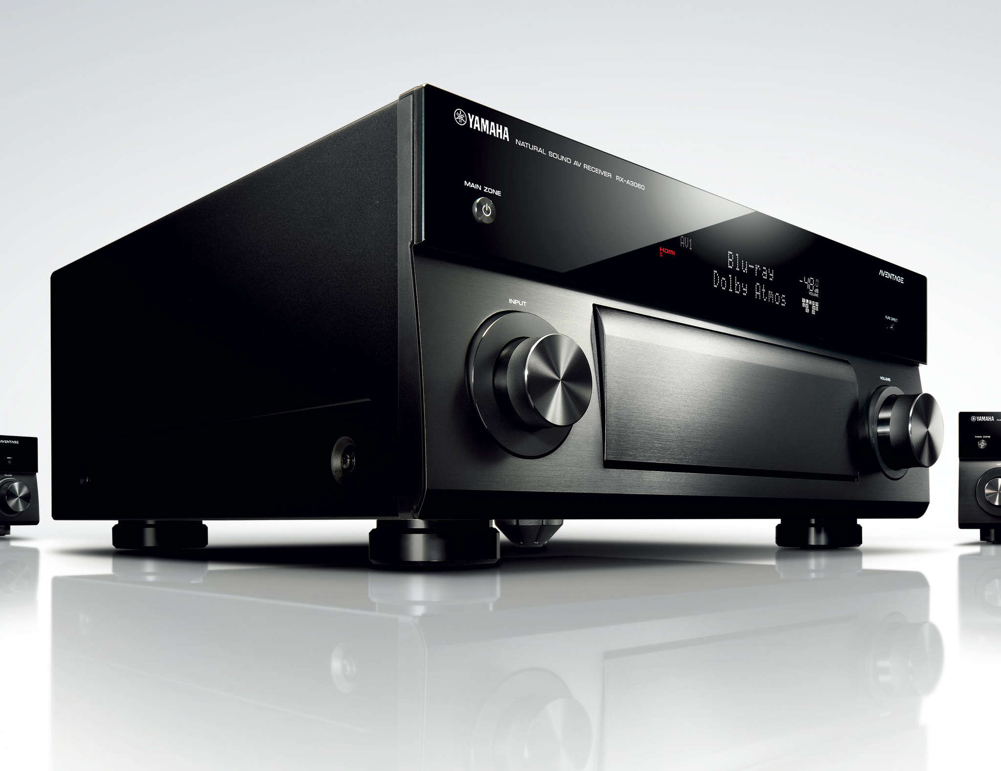 Yamaha´s flagship Aventage RX-A3060 exemplifies the technology needed to keep up with today´s digital and streaming audio.