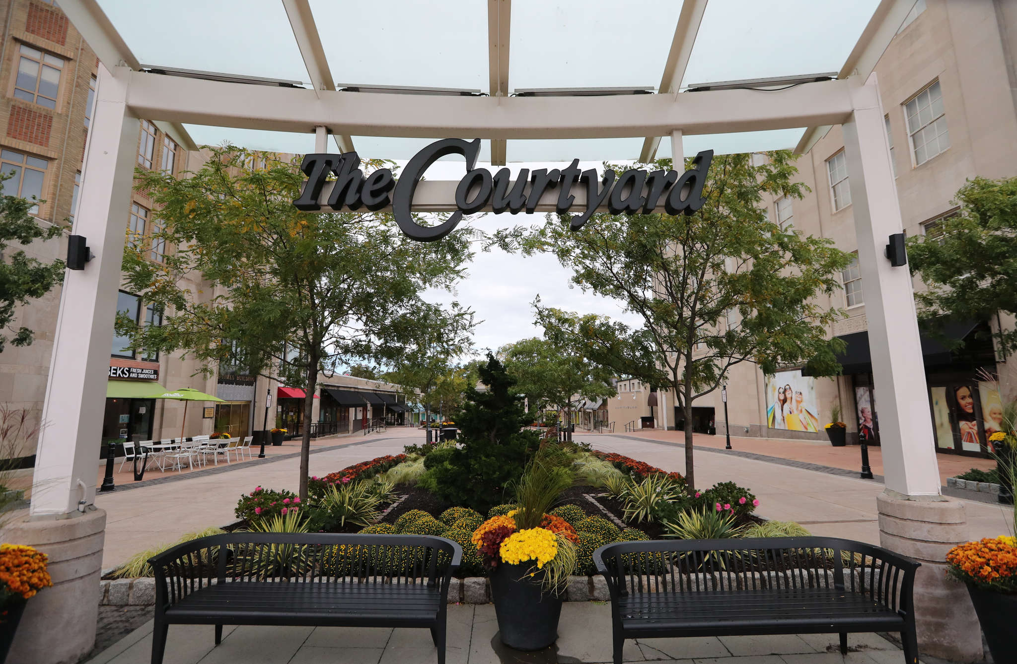 Suburban Square in Ardmore is one of the many spots where residents can shop.