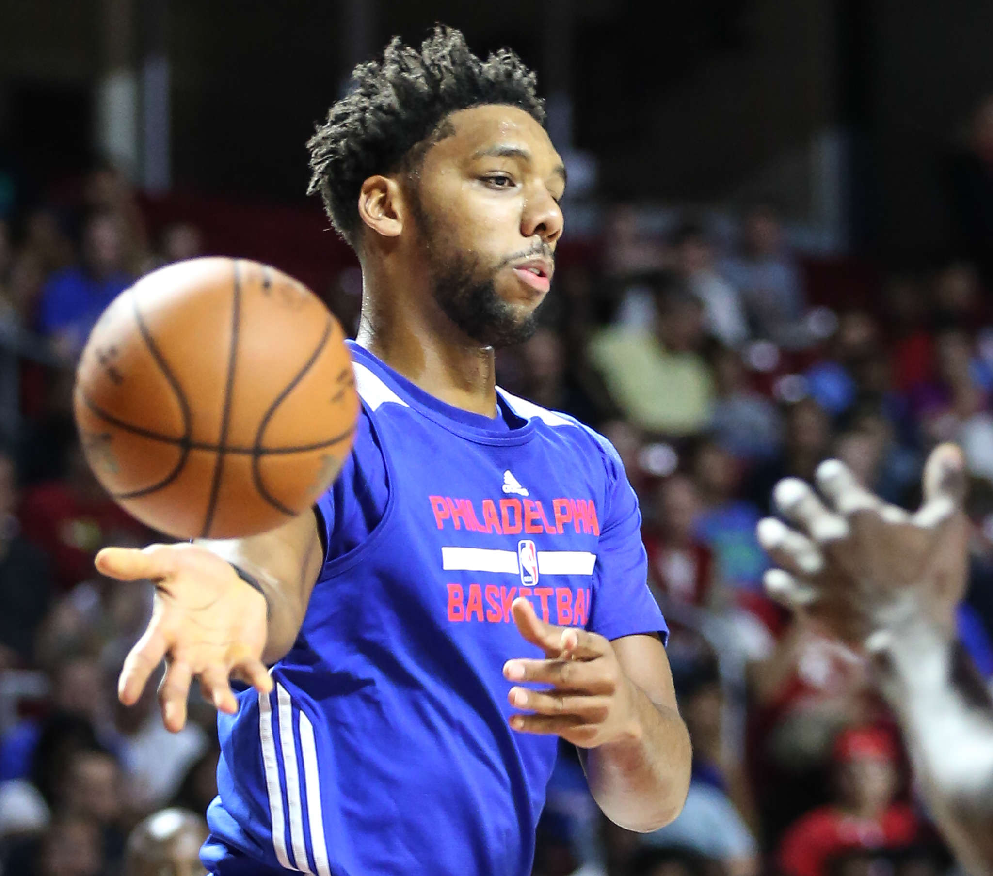 Jahlil Okafor has returned to action, but his minutes will be limited as he recovers from knee surgery. STEVEN M. FALK / Staff Photographer