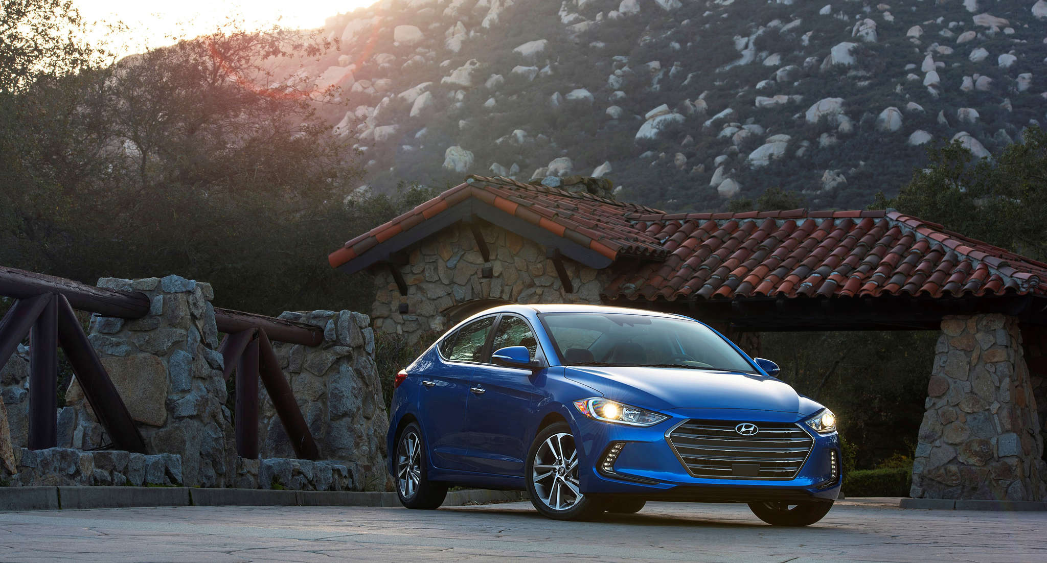 The 2017 Hyundai Elantra sedan gets a brand-new look for the model year and plenty of improvements, including better fuel economy.