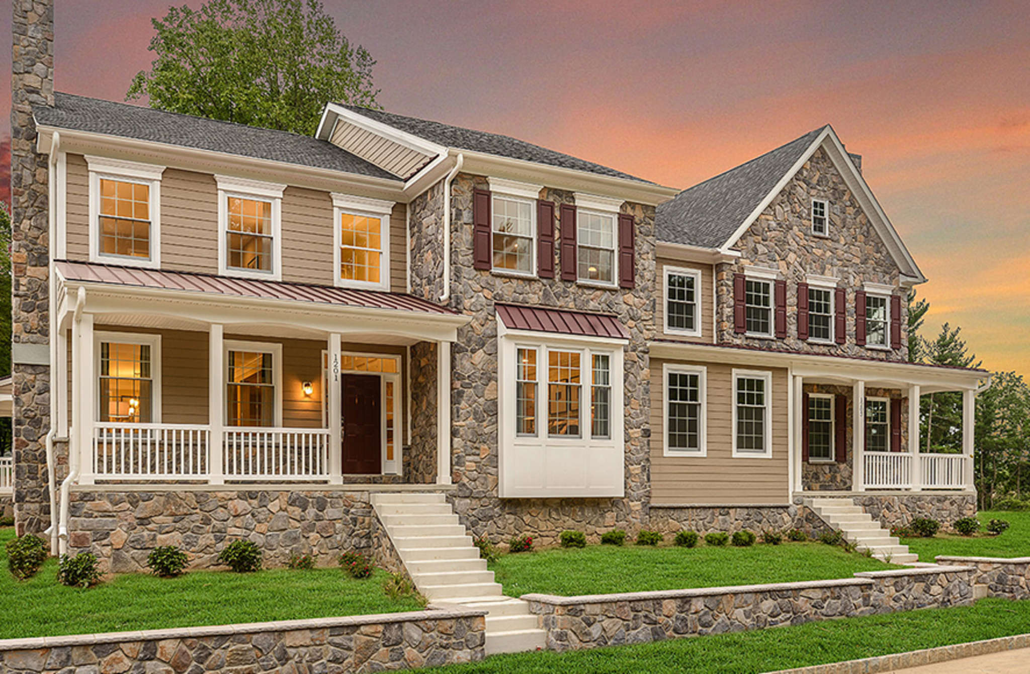 The newest CalAtlantic project is Marshallton Walk in West Bradford Township, Chester County.