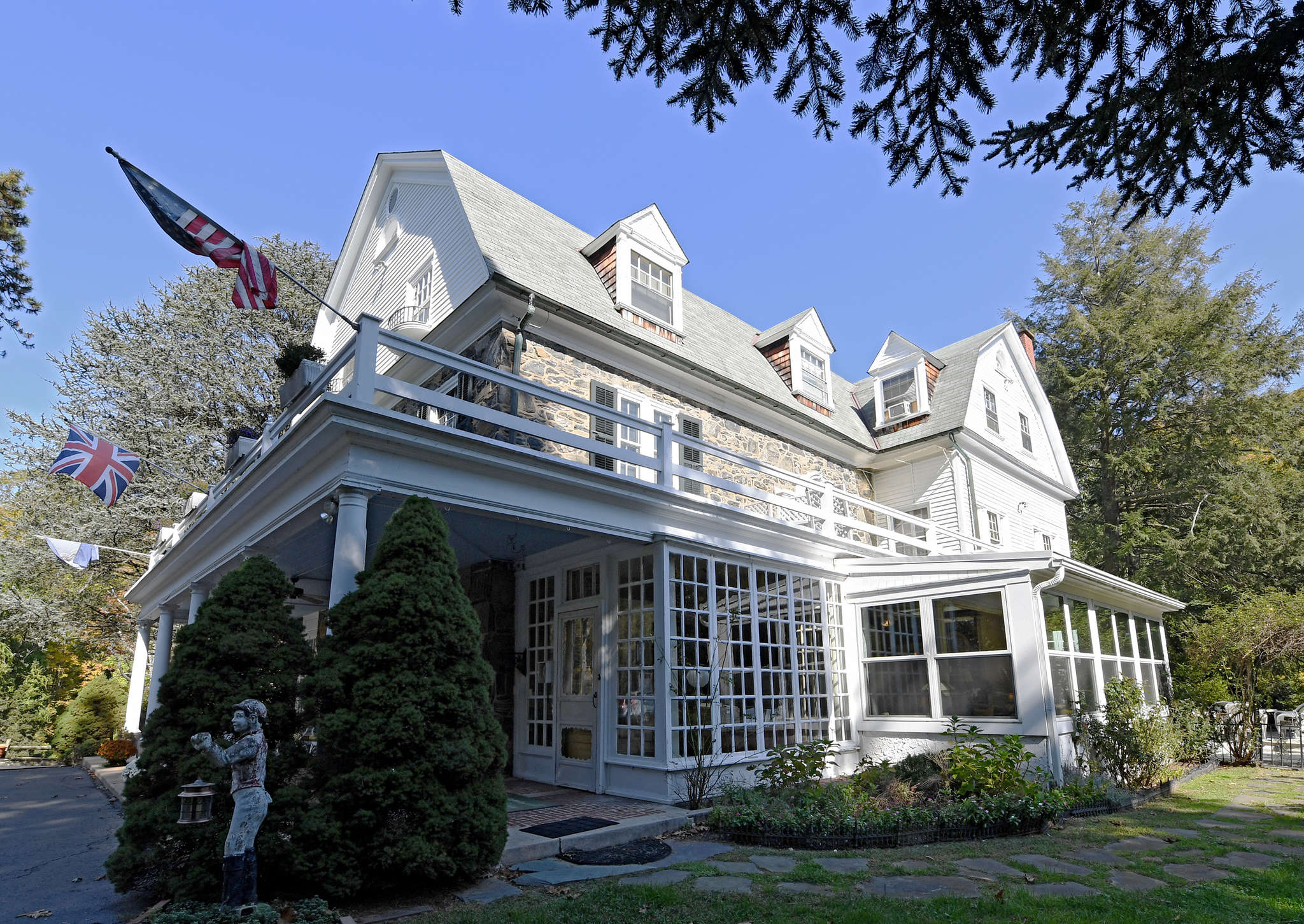 Hamanassett Bed & Breakfast on Indian Springs Drive is listed at $1.6 million.