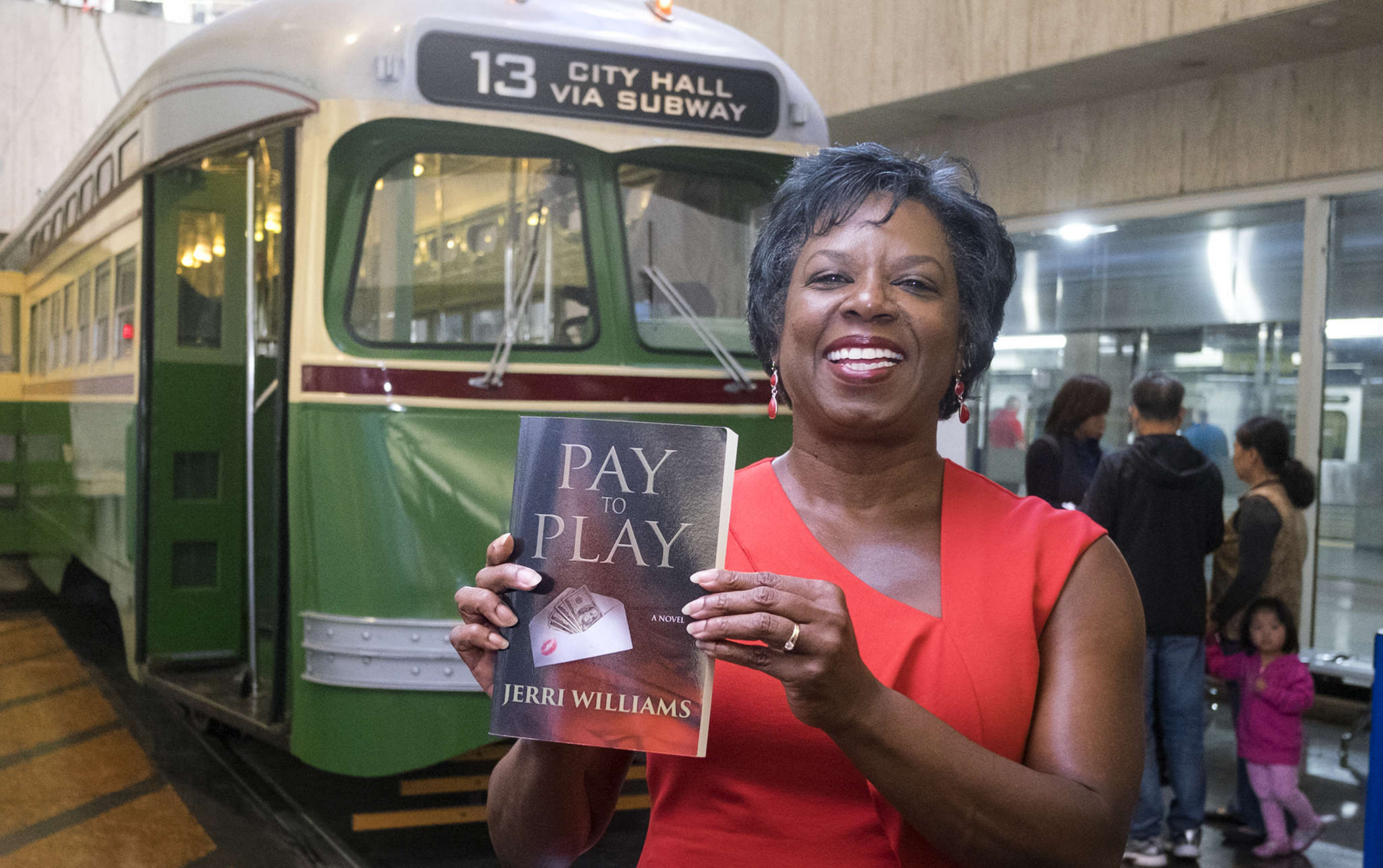 Williams: With SEPTA for seven years, now a writer.