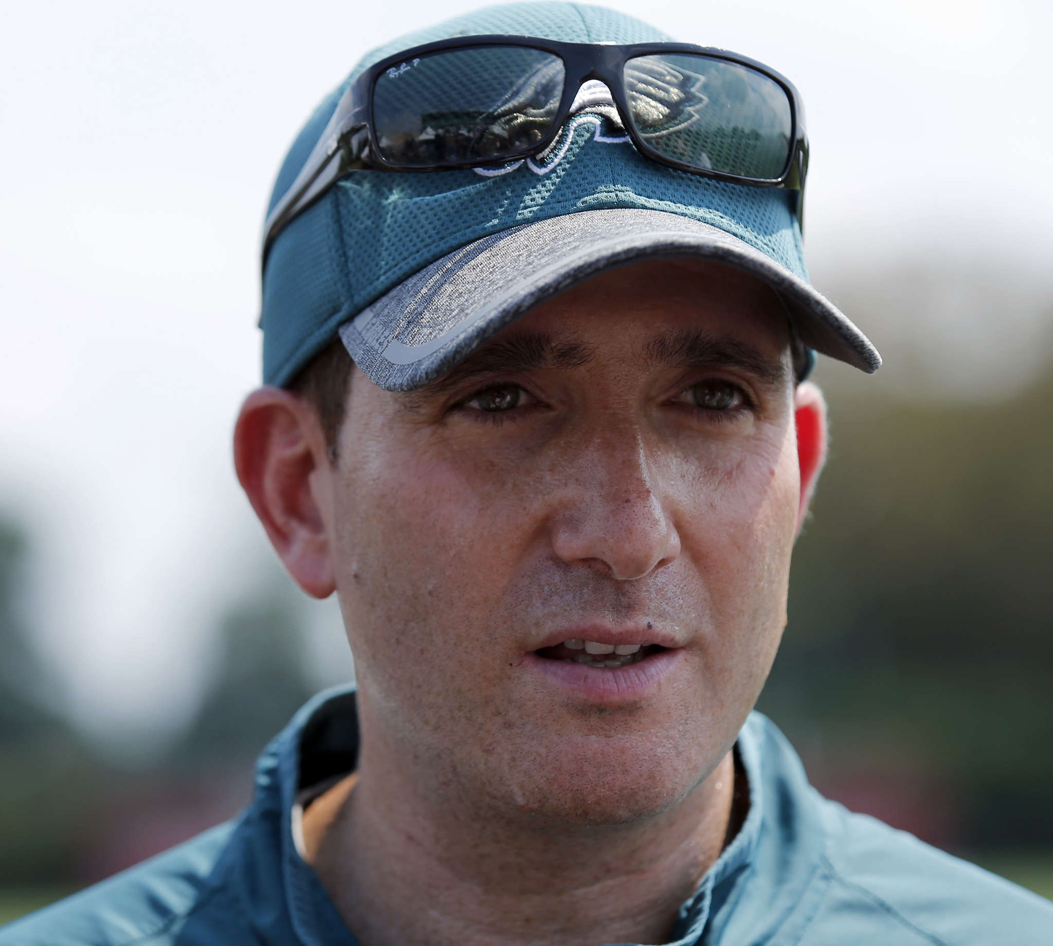 Eagles´ Howie Roseman didn´t explain the timing of the decision to cut receiver Josh Huff.