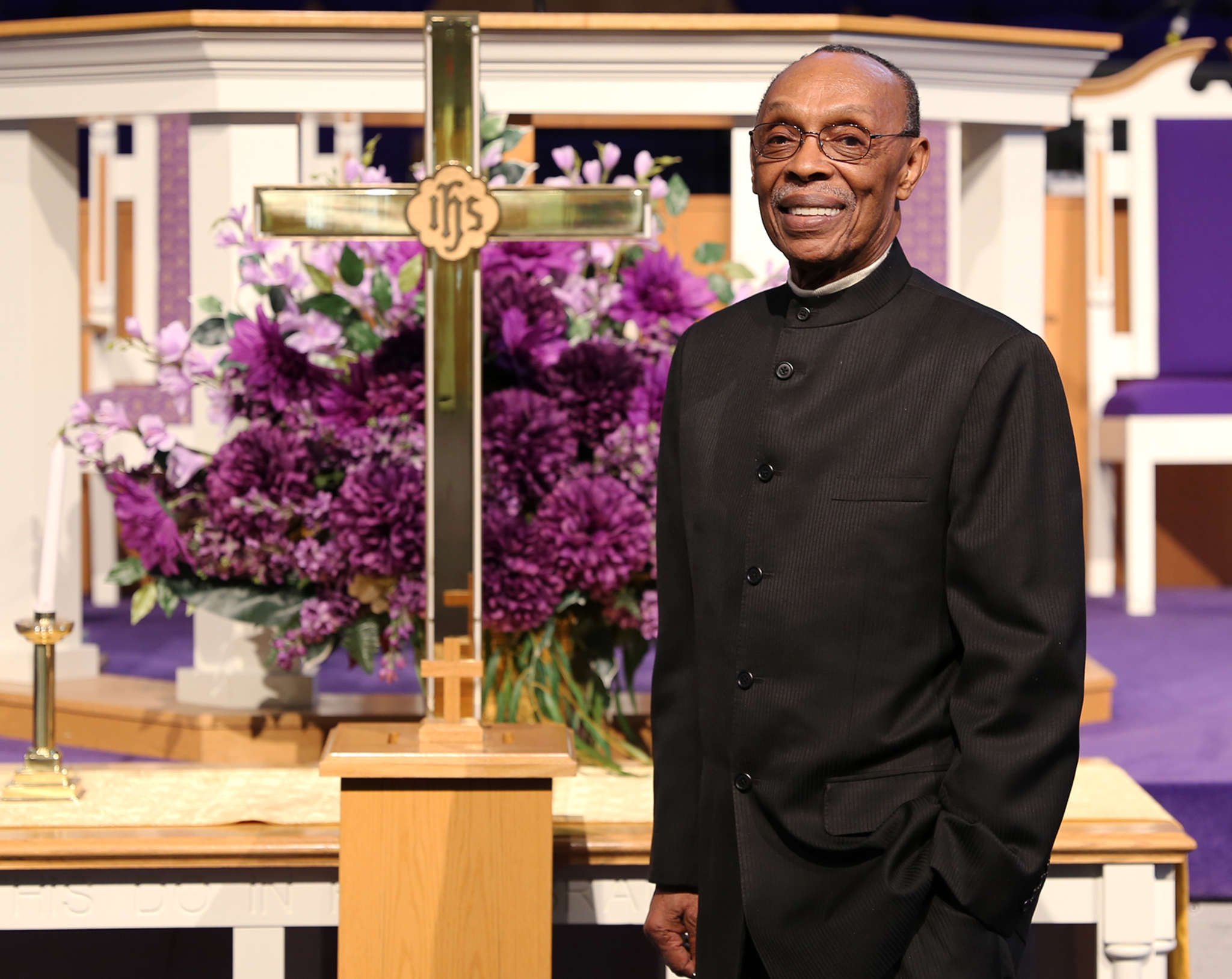 triumph baptist church honors pastor james s. hall jr. for 65