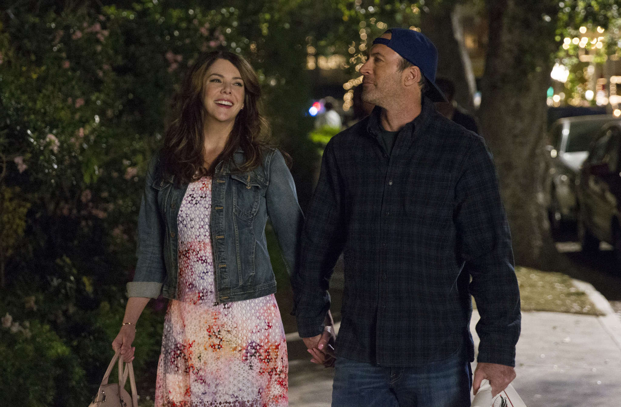 Lauren Graham and Scott Patterson, of Haddonfield, played a will-they-or-won´t-they couple that still elicits swoons.