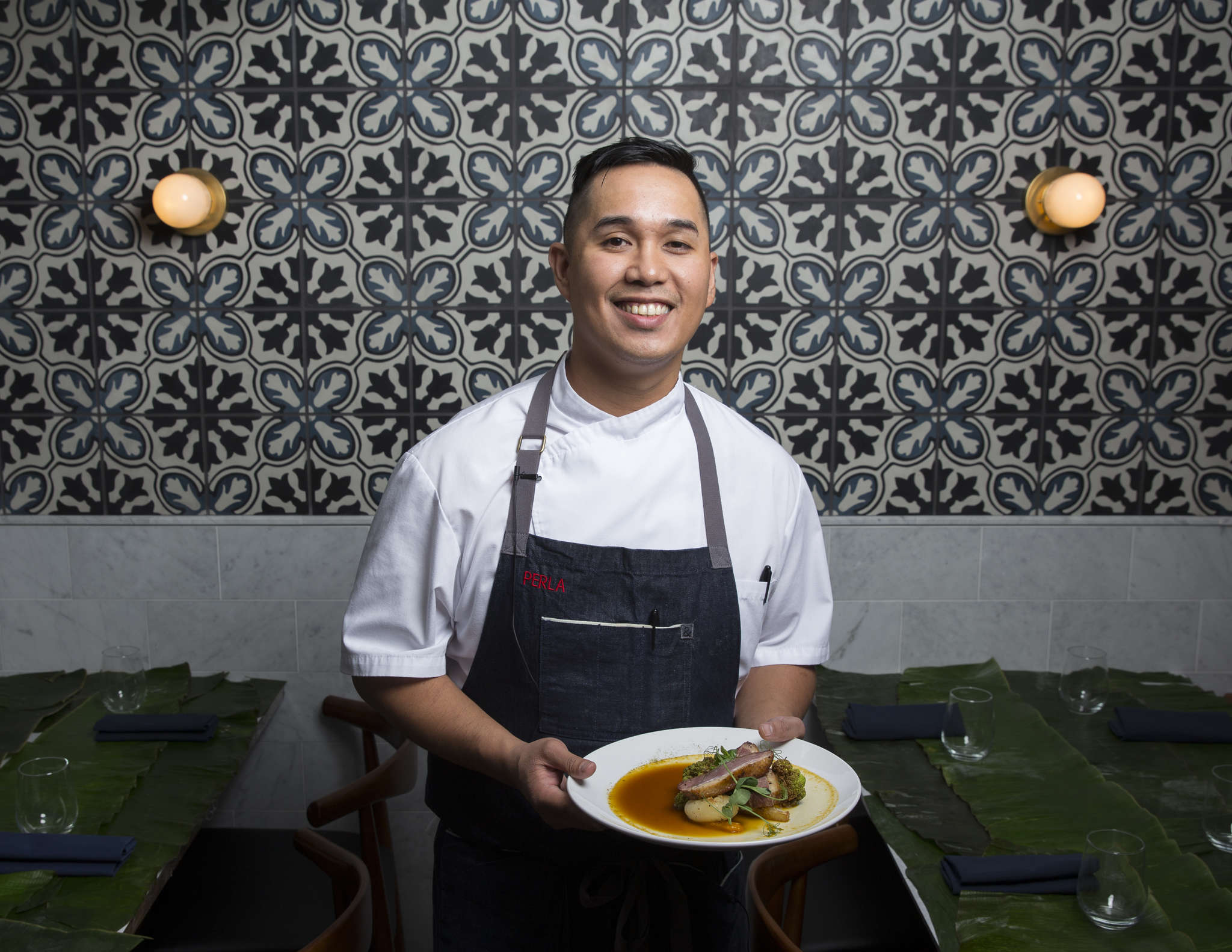 Chef Lou Boquila aims to capture the spirit of his Filipino immigrant mom´s cooking at Perla.