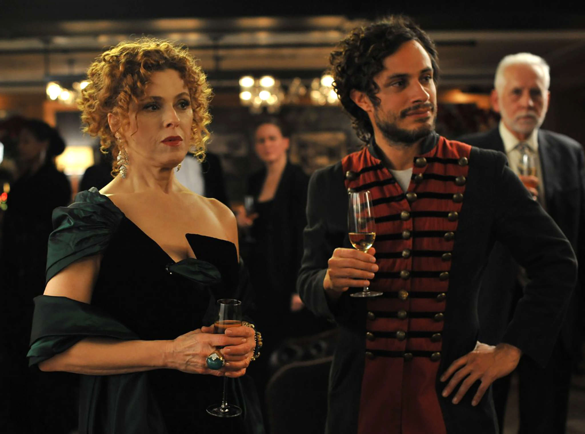 "Bernadette Peters and Gael Garcia Bernal star in Prime´s ""Mozart in the Jungle."" The third season premieres Friday. Amazon"