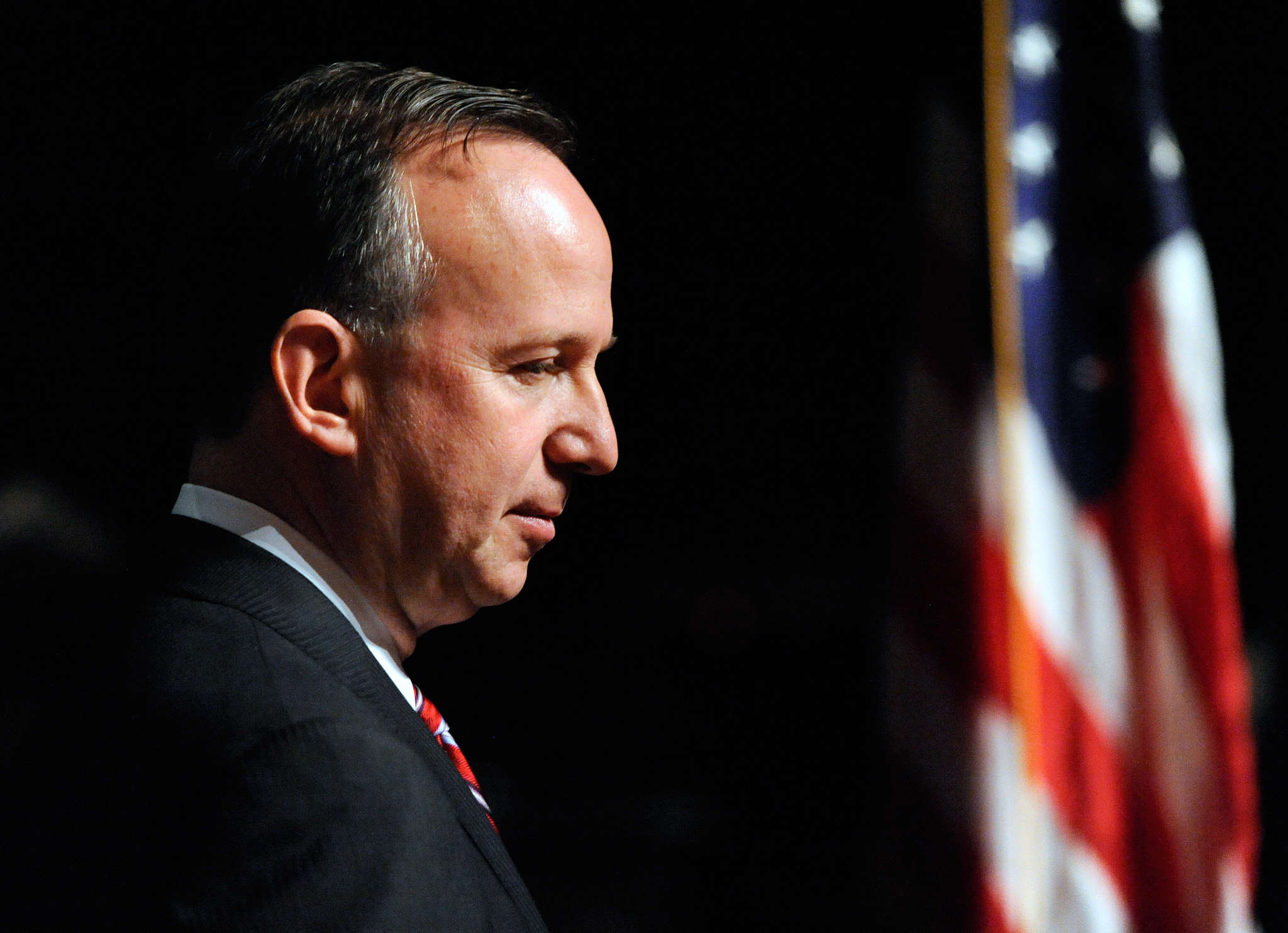 Gov. Jack Markell , who leaves office in Janurary, says he´s preparing a tough final budget. STEVE RUARK / AP