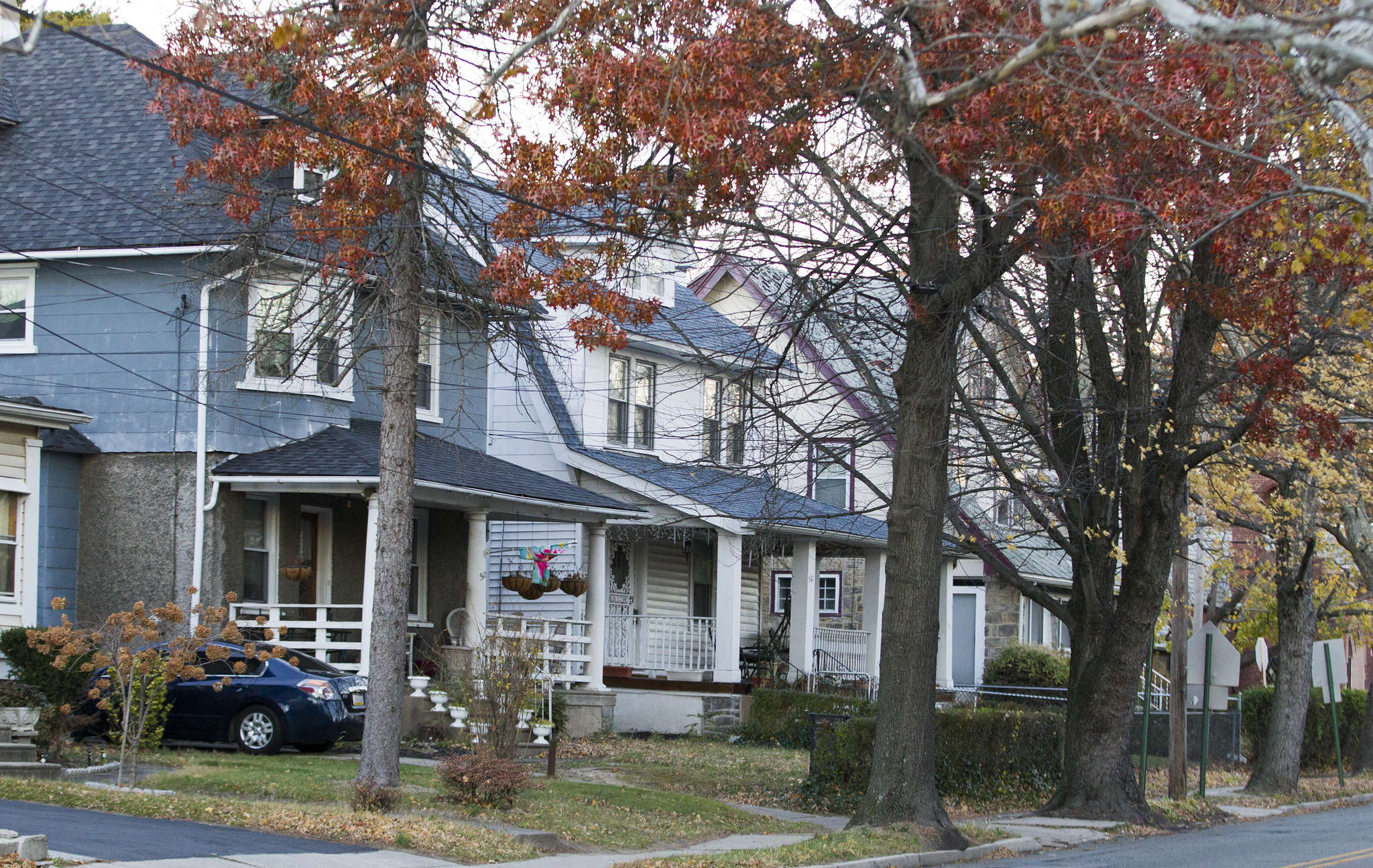 Houses on Pembroke Avenue have a small-town, leafy appeal.