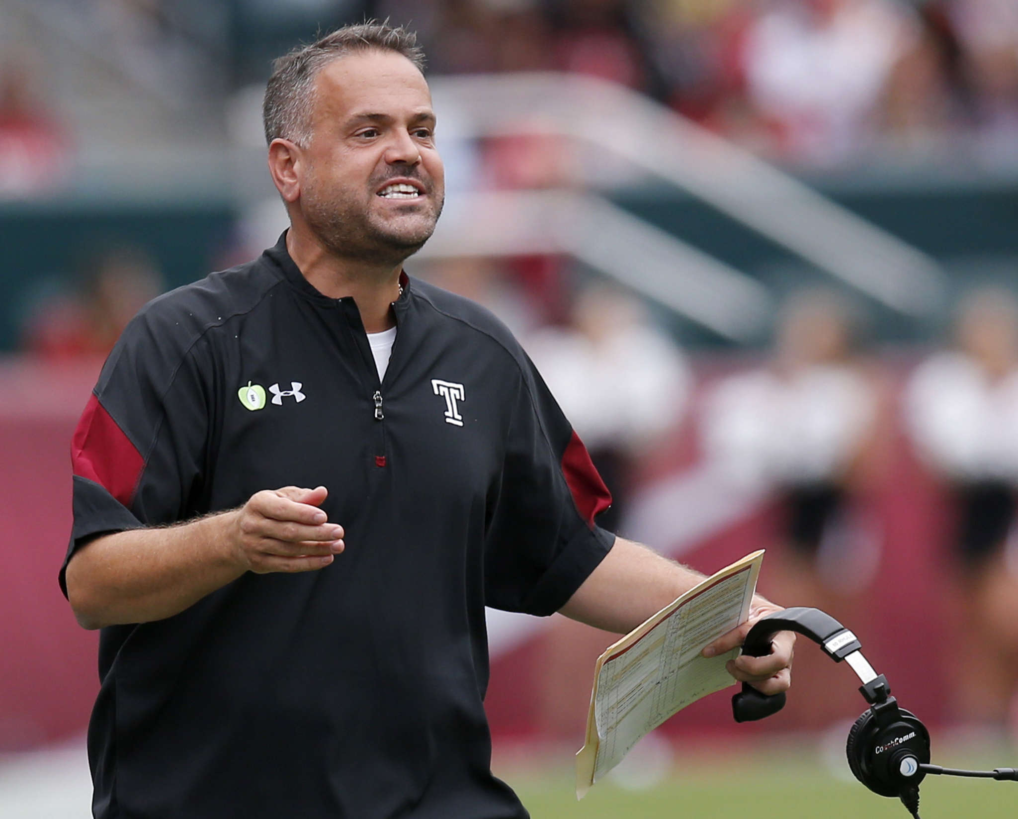 Matt Rhule says he wants to replicate his Temple success at Baylor.