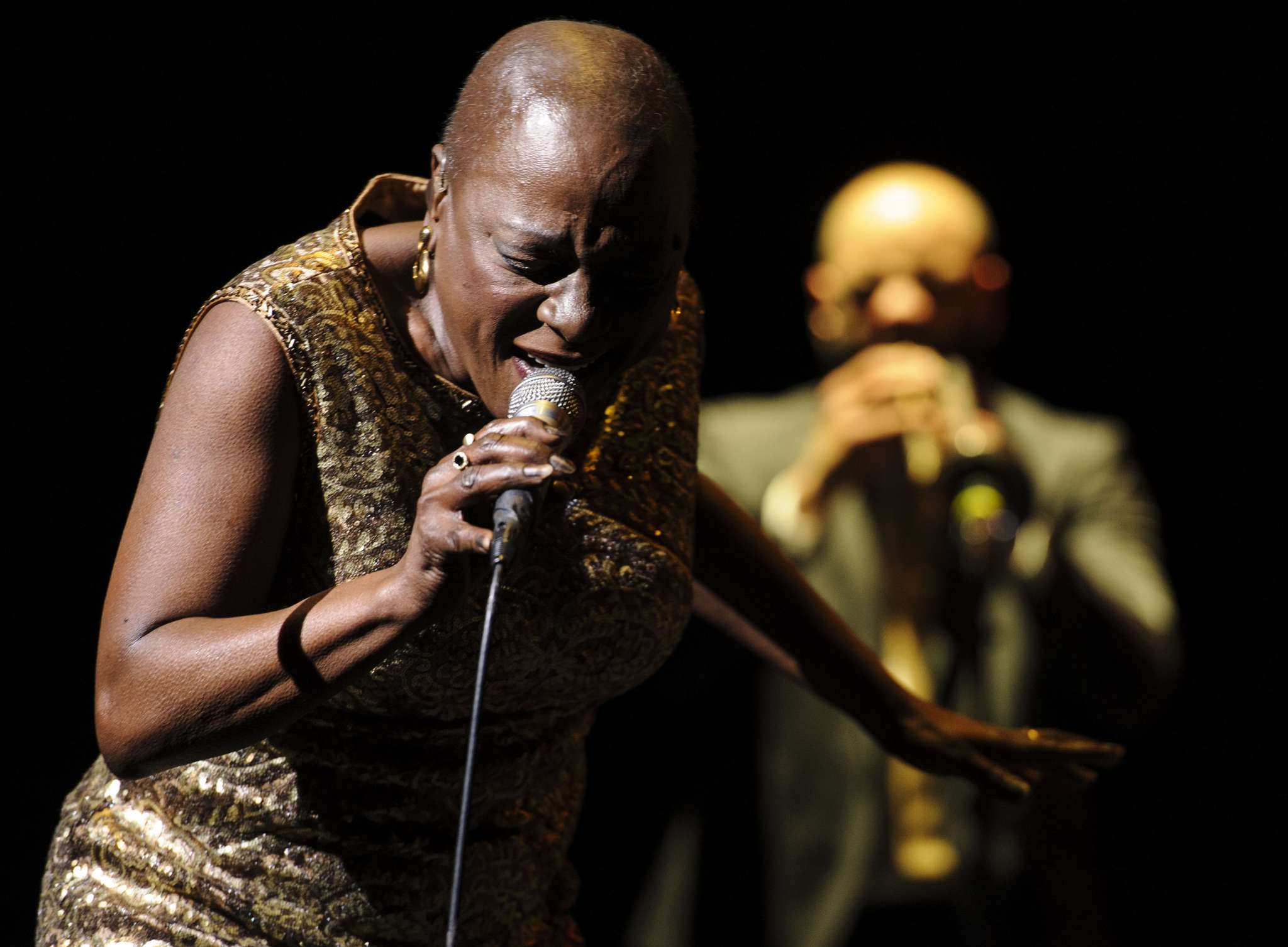 Sharon Jones, soul revival leader.