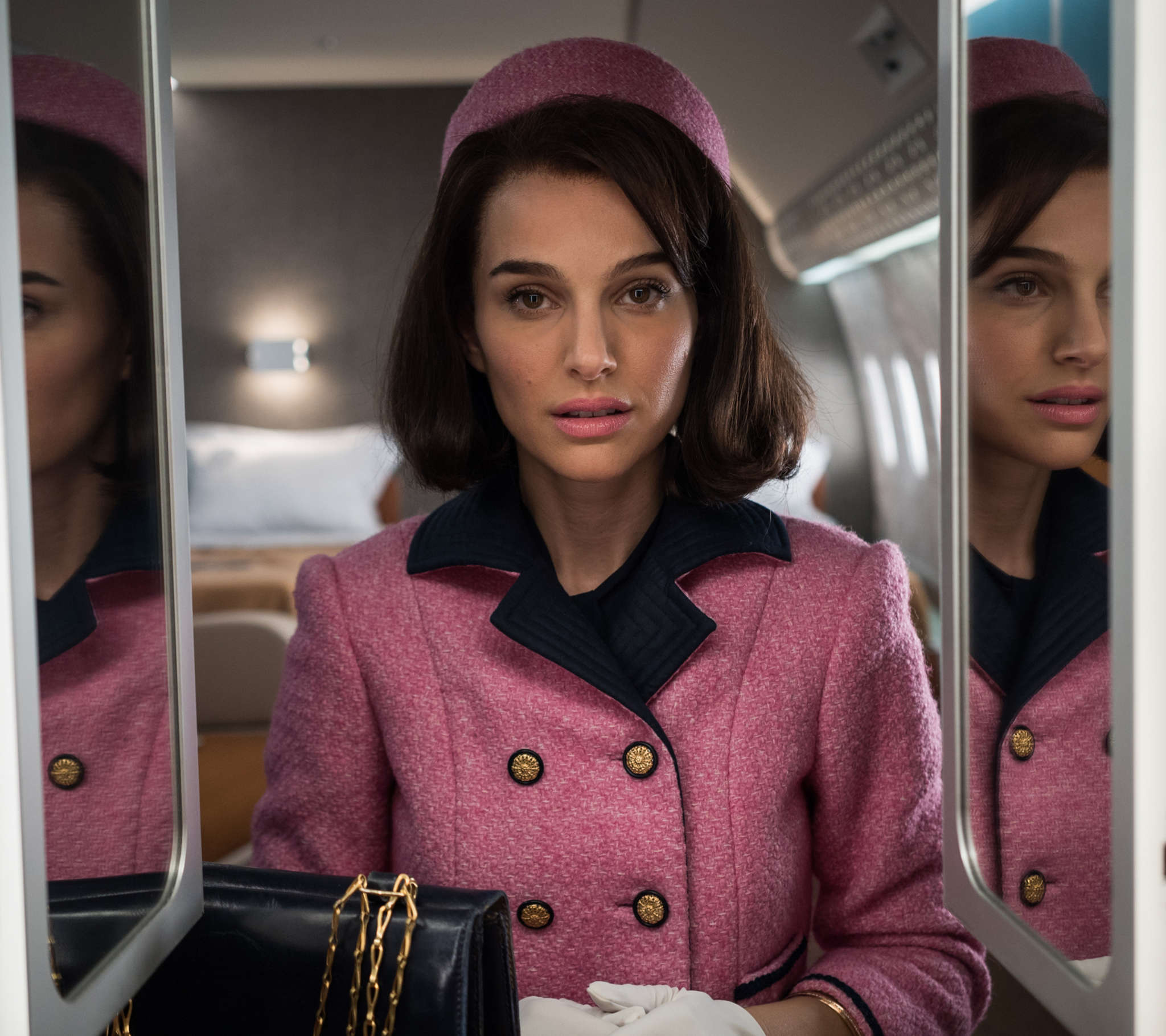 "Natalie Portman gets everything right in her portrayal of first lady Jacqueline Bouvier Kennedy in ""Jackie."""