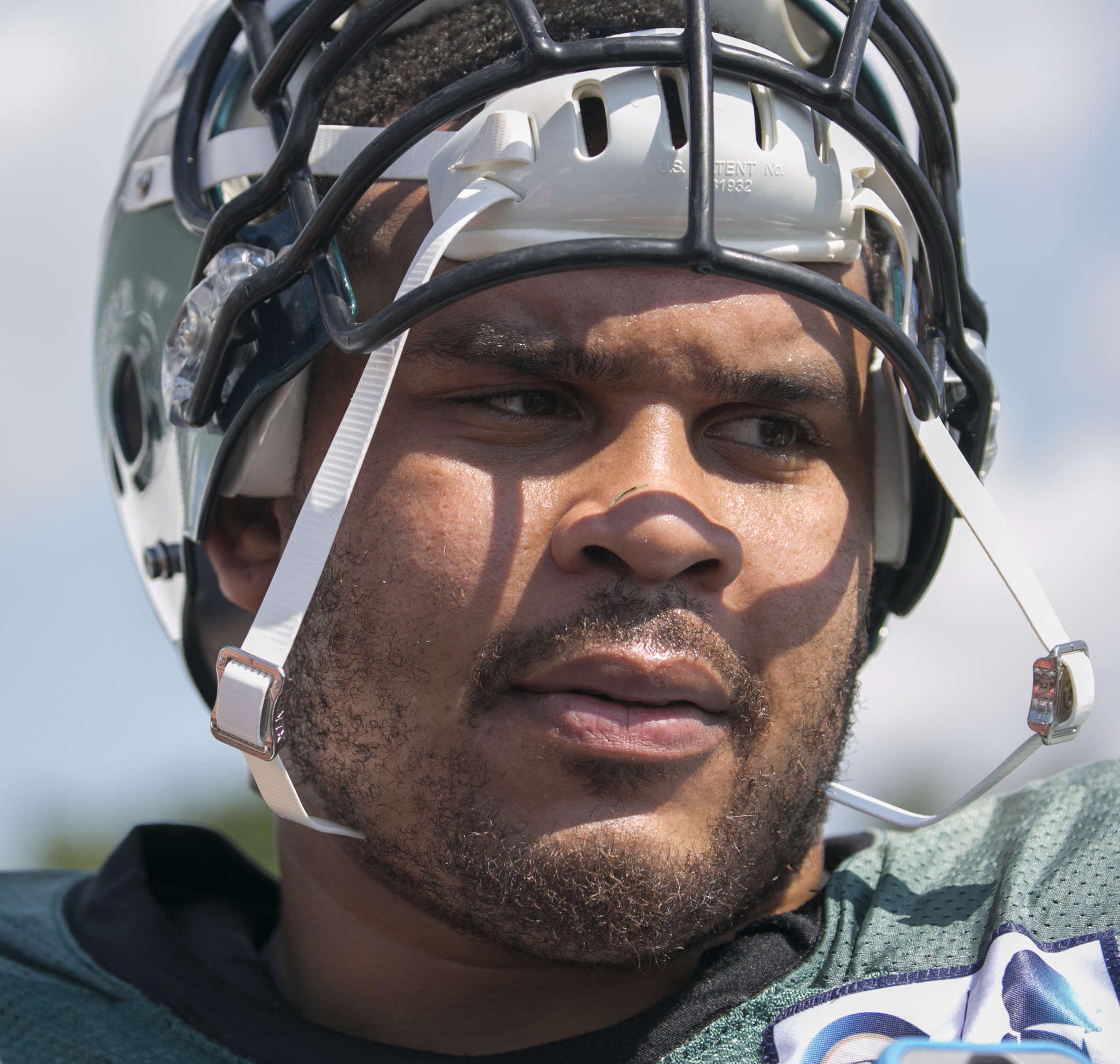 Right guard Brandon Brooks has missed two of last three games after becoming physically ill due to anxiety.