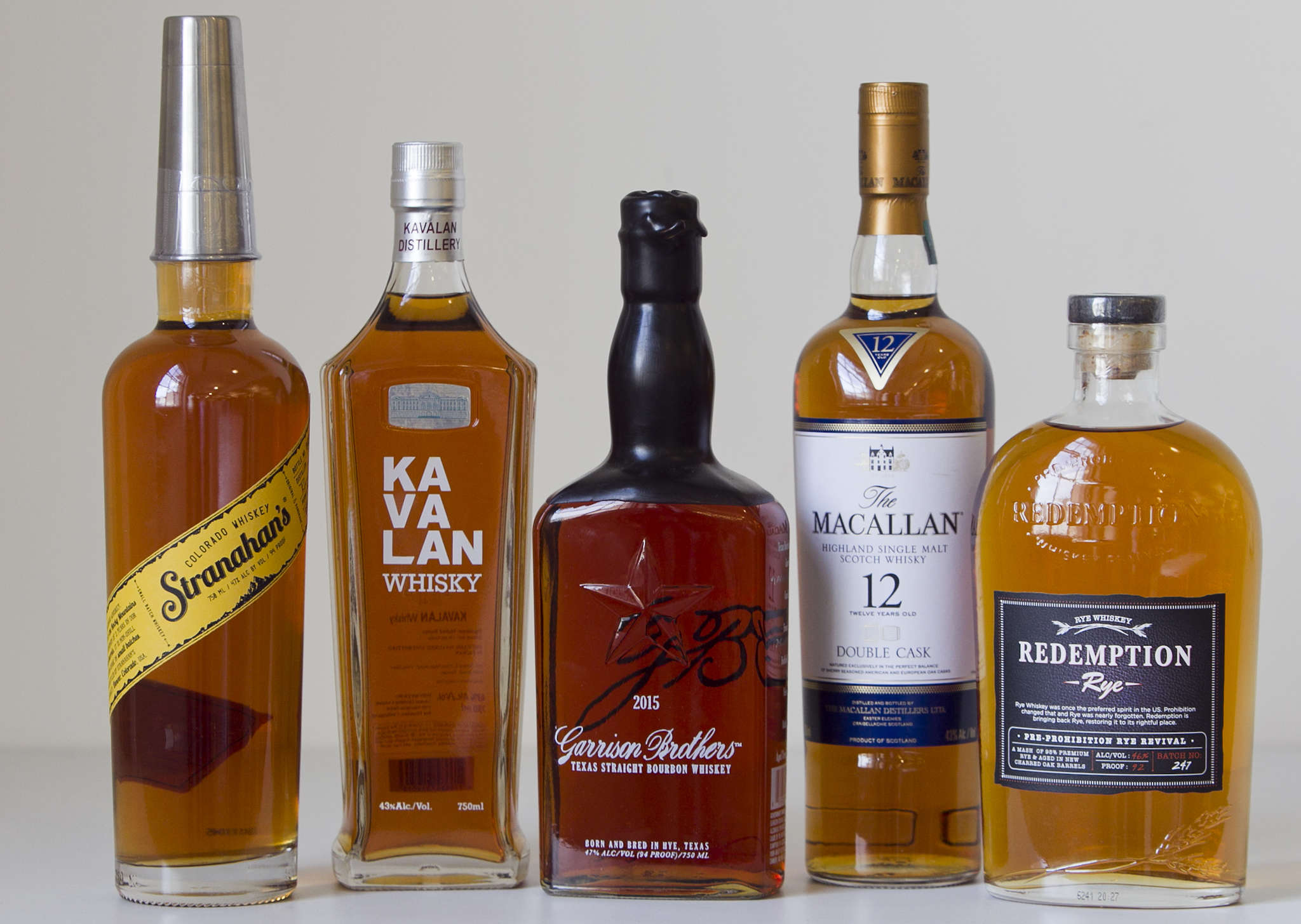 For the holidays, five of the eight selections for whiskey lovers.